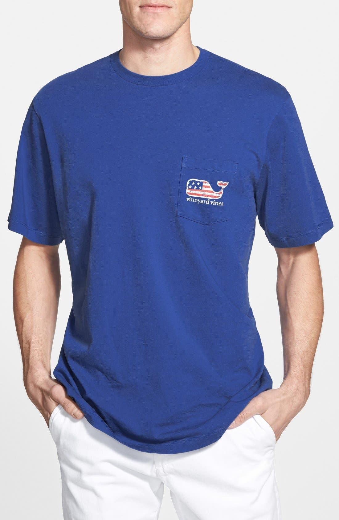 Alternate Image 2  - Vineyard Vines 'American Flag Whale' Graphic T-Shirt