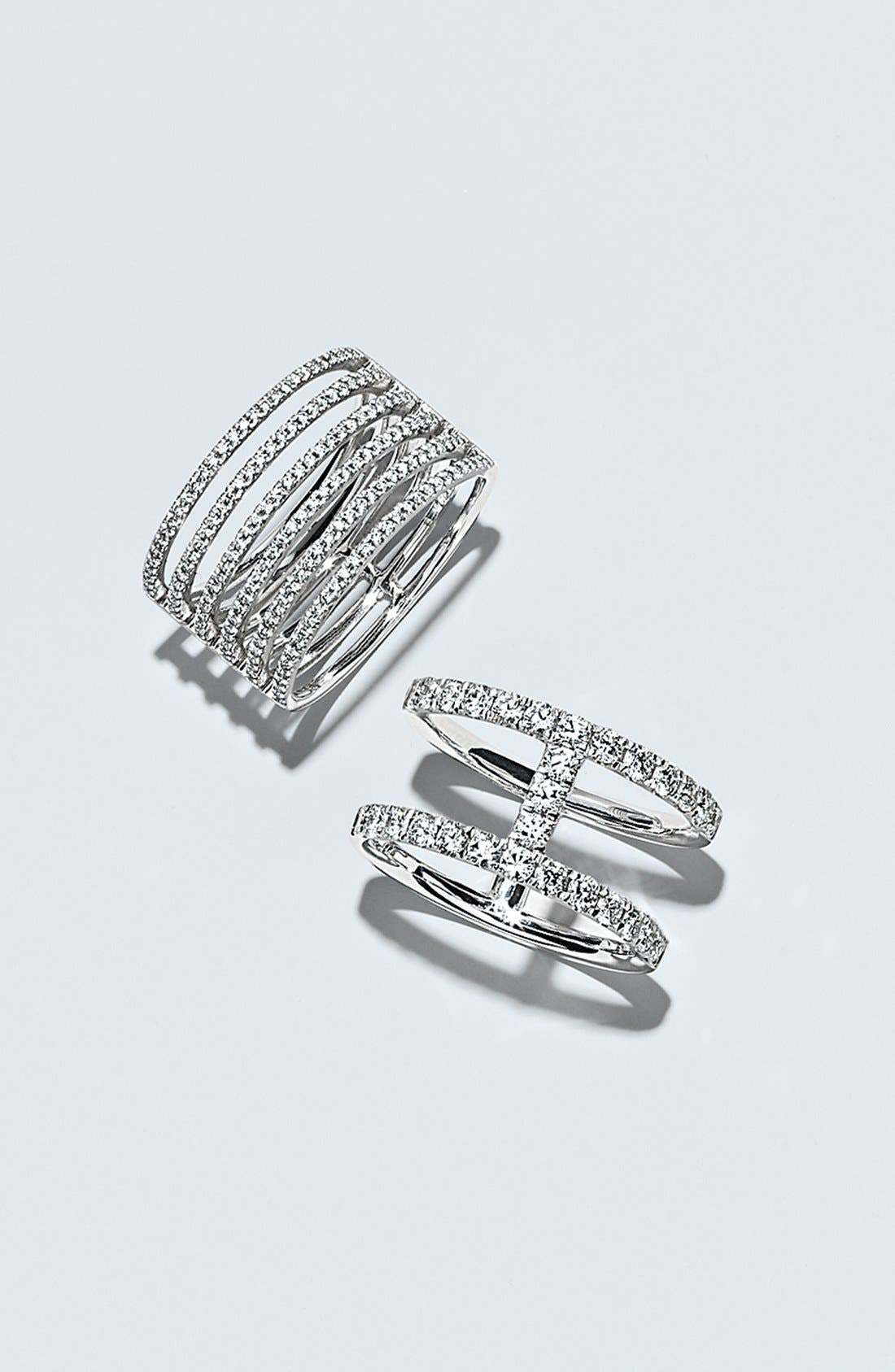 Alternate Image 3  - Bony Levy 'Prism' Six-Row Diamond Ring (Nordstrom Exclusive)