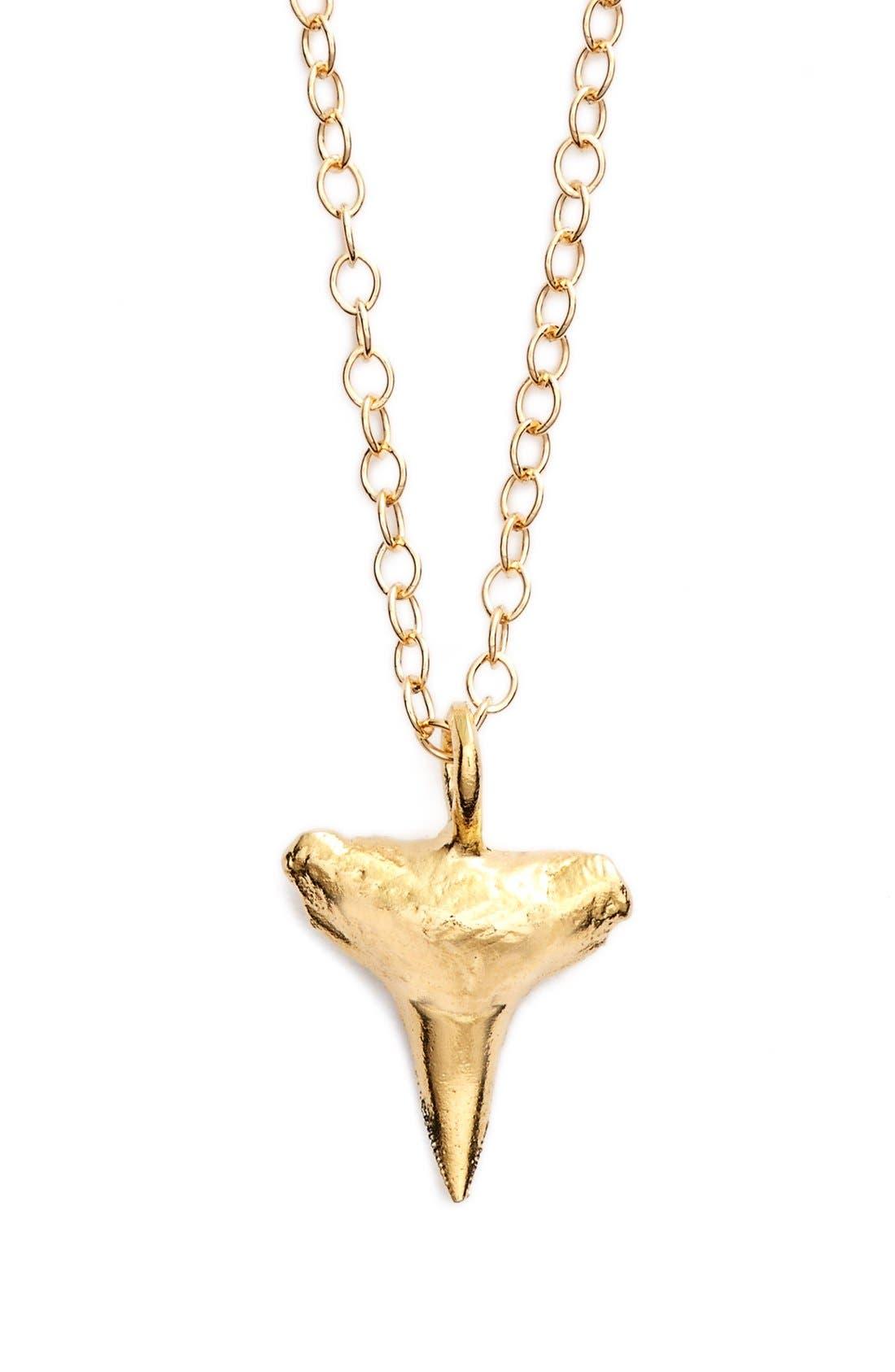 Main Image - ki-ele 'Manini Mano' Shark's Tooth Pendant Necklace