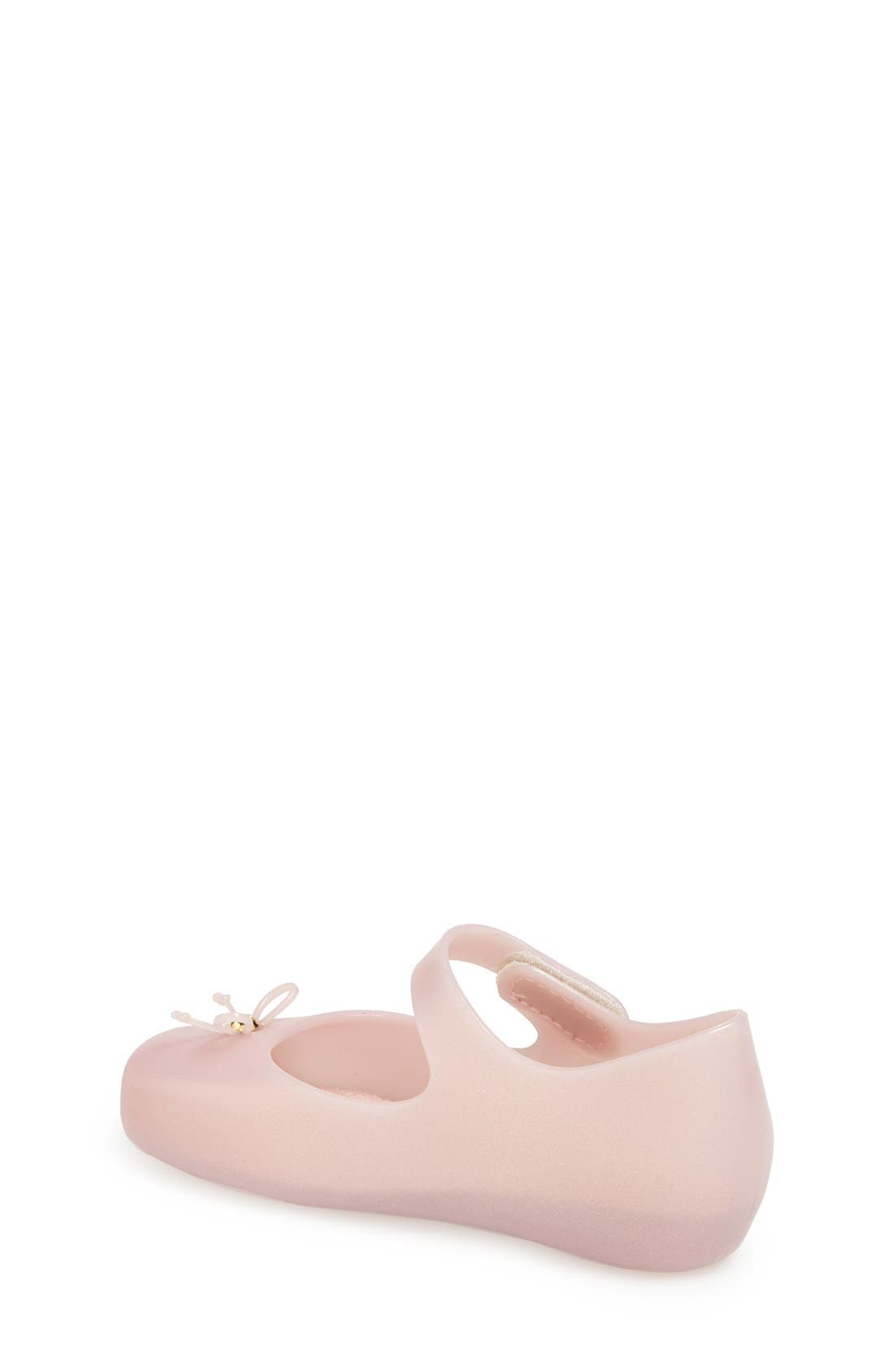 Alternate Image 2  - Mini Melissa Ballet Slip-On (Walker & Toddler)