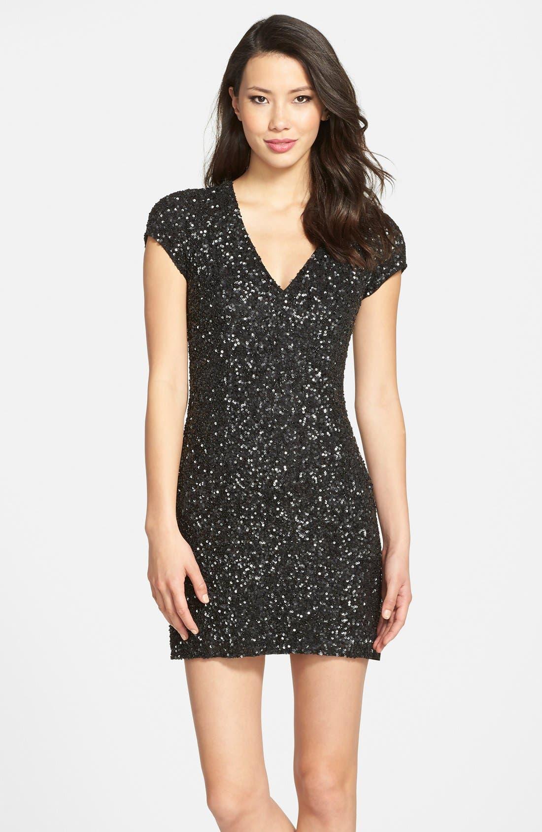 Alternate Image 1 Selected - Parker 'Serena' Sequin Sheath Dress