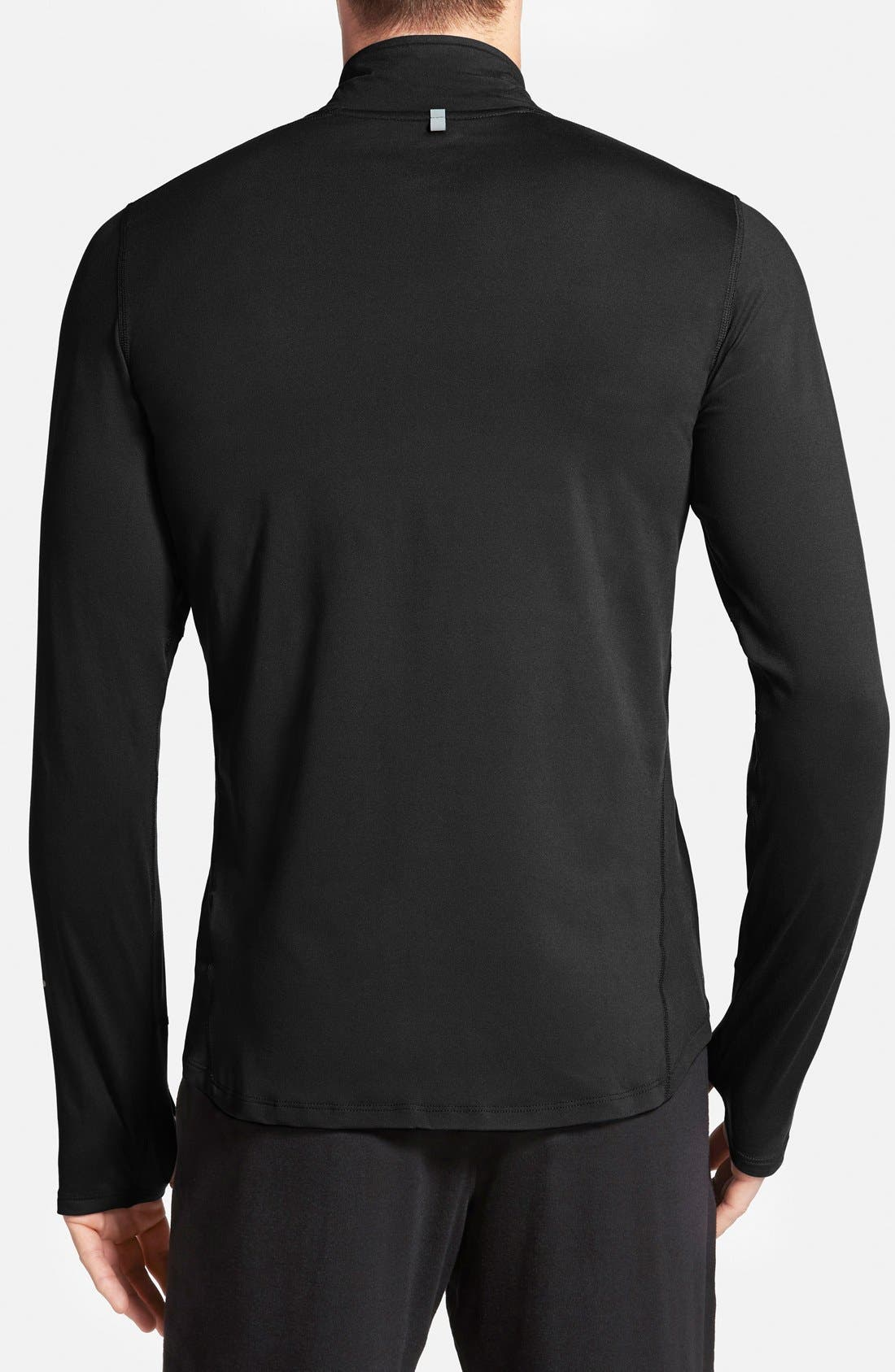 Alternate Image 2  - Nike 'Element' Dri-FIT Half Zip Running Top