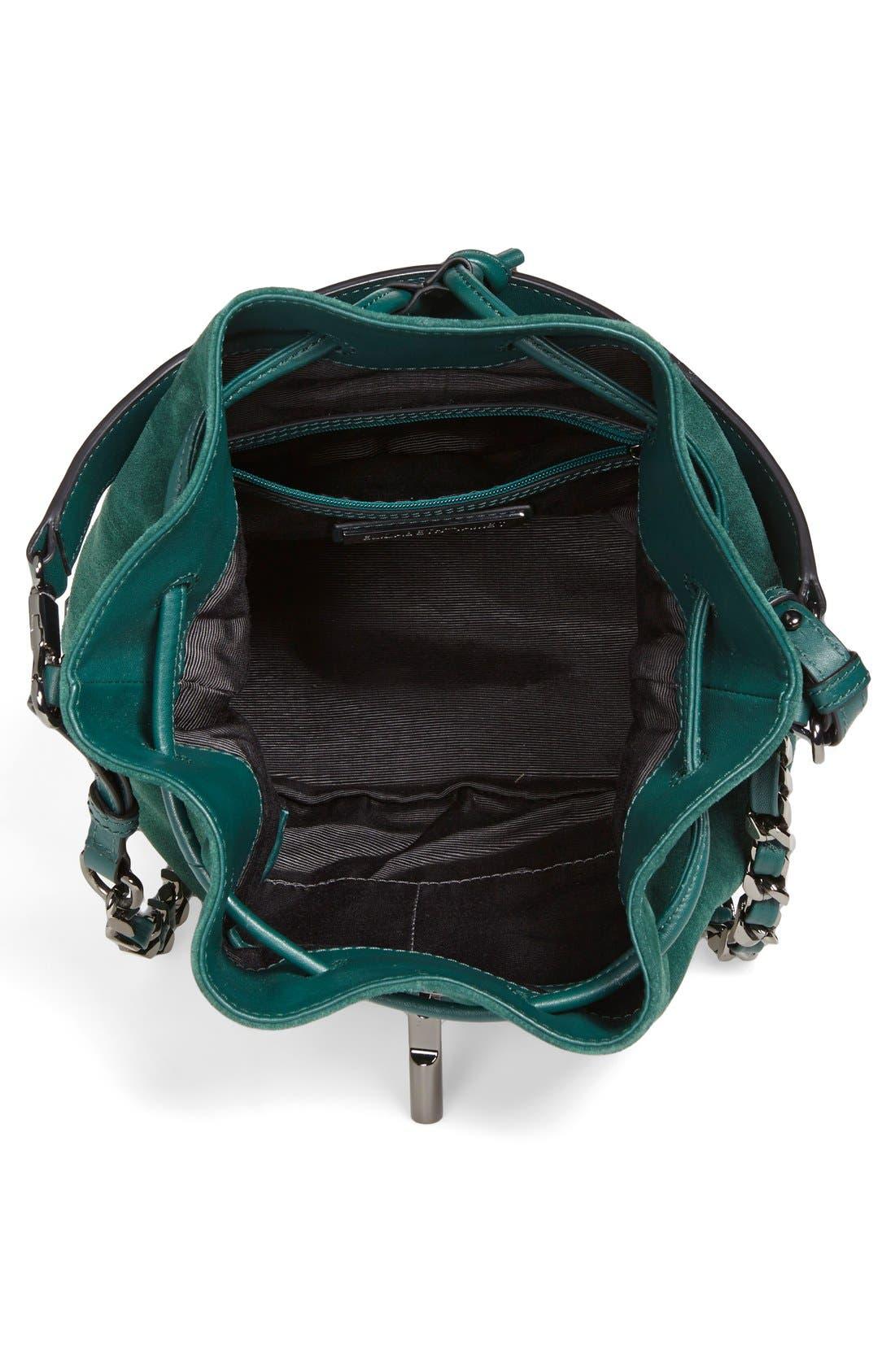 Alternate Image 3  - Elizabeth and James 'Cynnie' Suede Bucket Bag