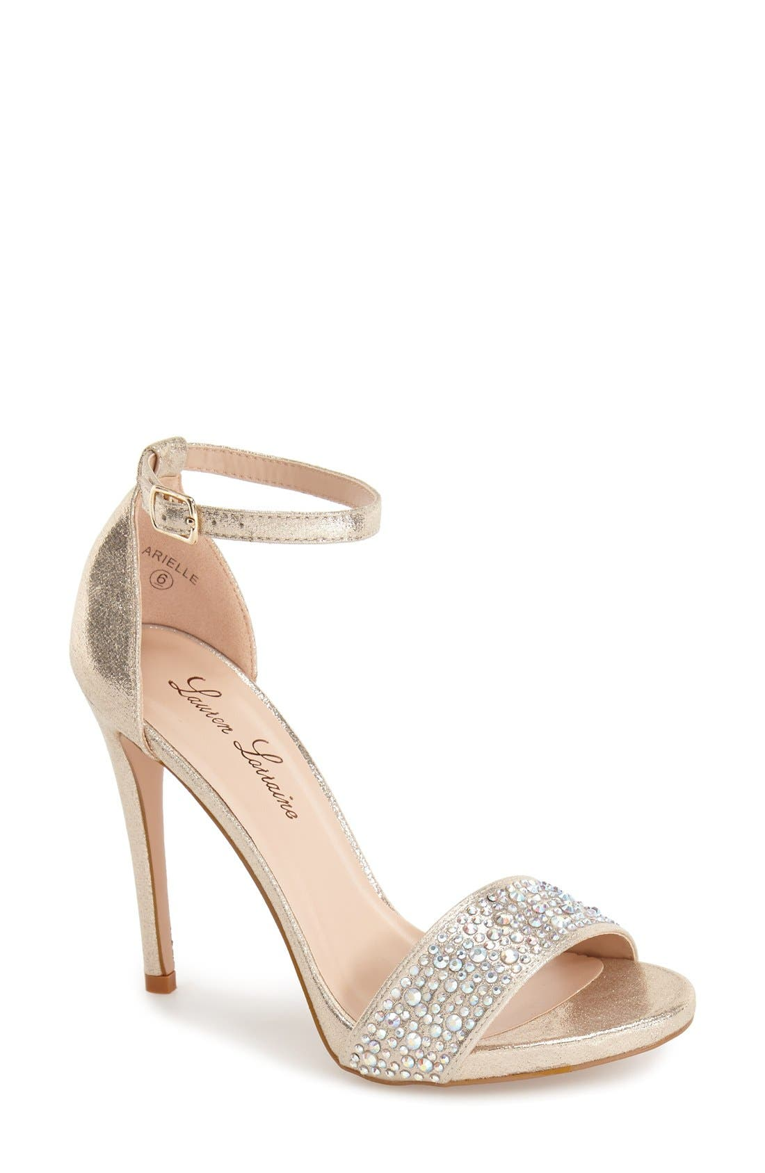 Main Image - Lauren Lorraine 'Arielle' Ankle Strap Sandal (Women)