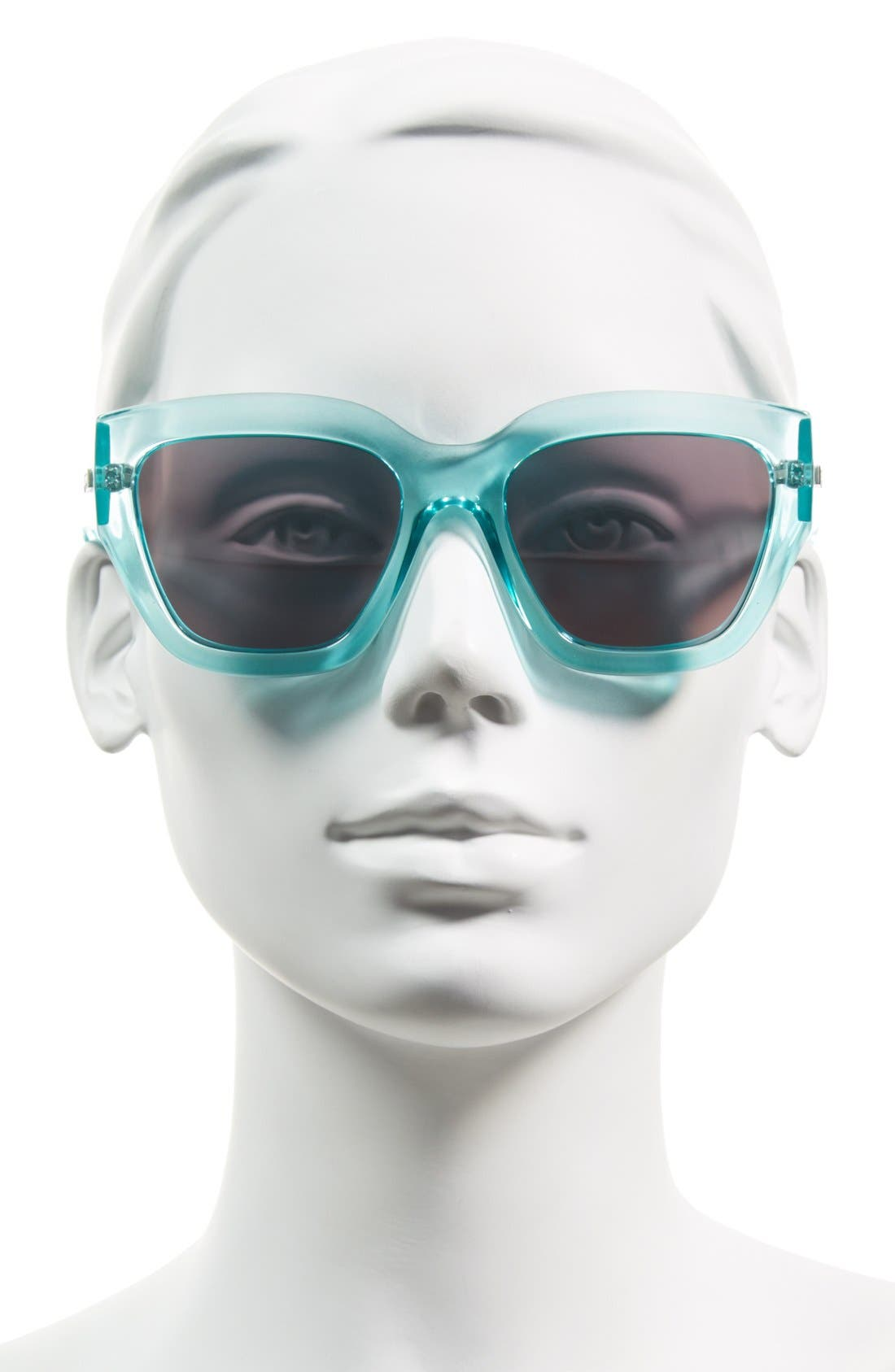 Alternate Image 2  - Le Specs 'Hermosa' 54mm Oversize Cat Eye Sunglasses