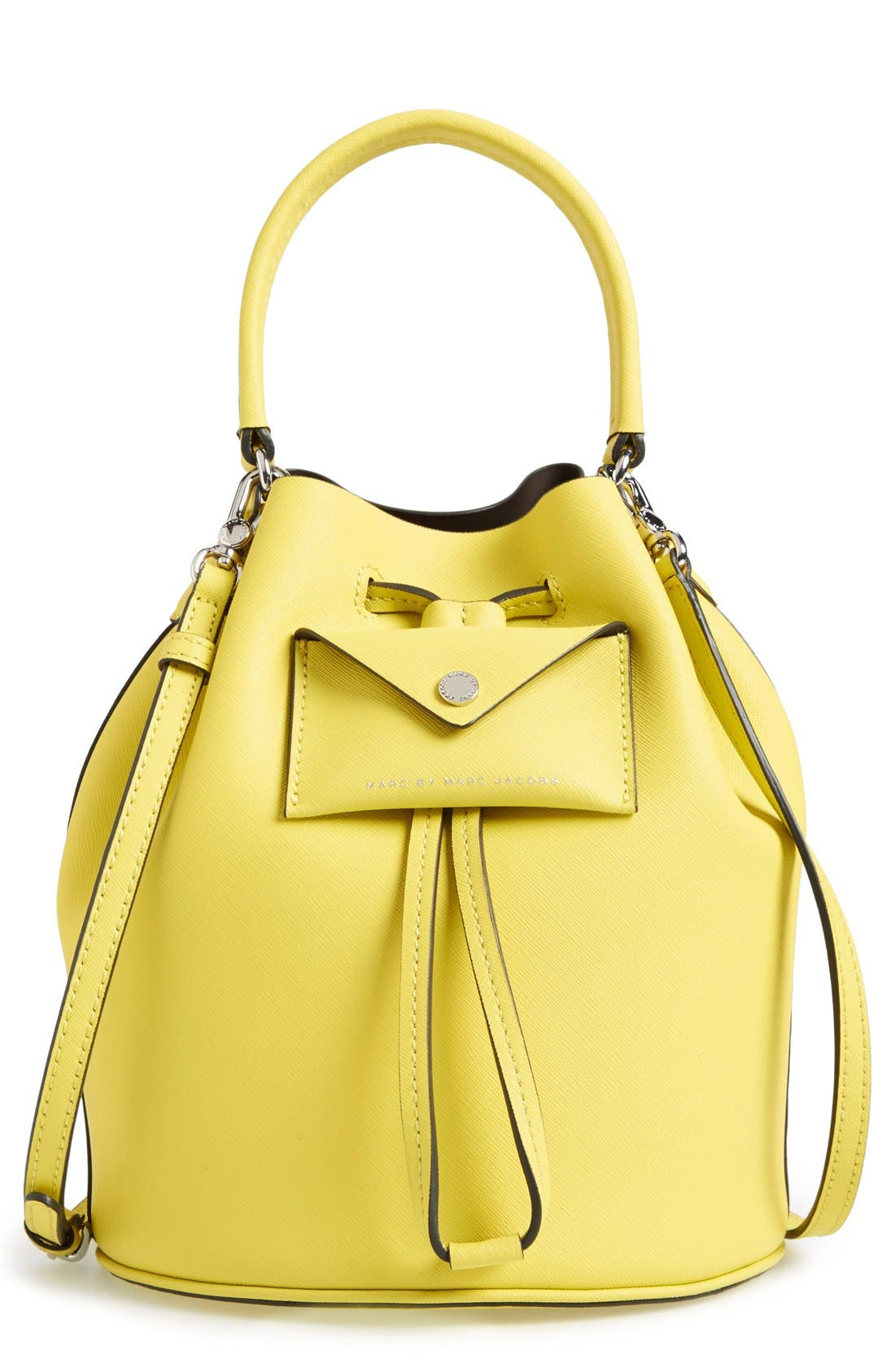 Alternate Image 1 Selected - MARC BY MARC JACOBS 'Metropoli' Leather Bucket Bag