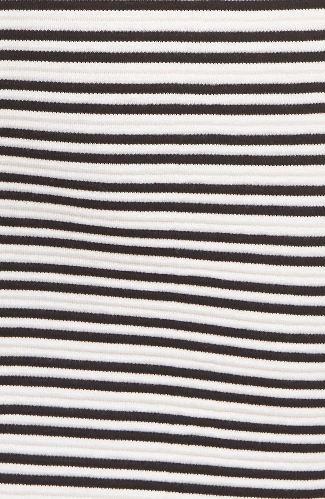 Alternate Image 3  - Lush Stripe Knit Body-Con Dress