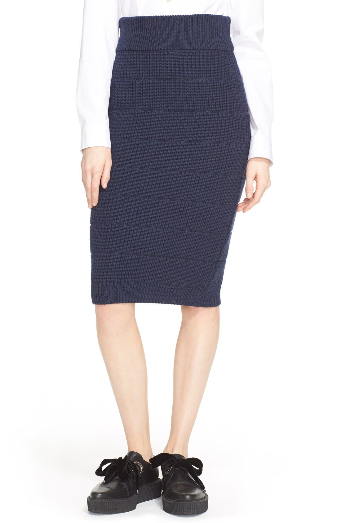 Main Image - MARC BY MARC JACOBS 'Compact' Wool Skirt