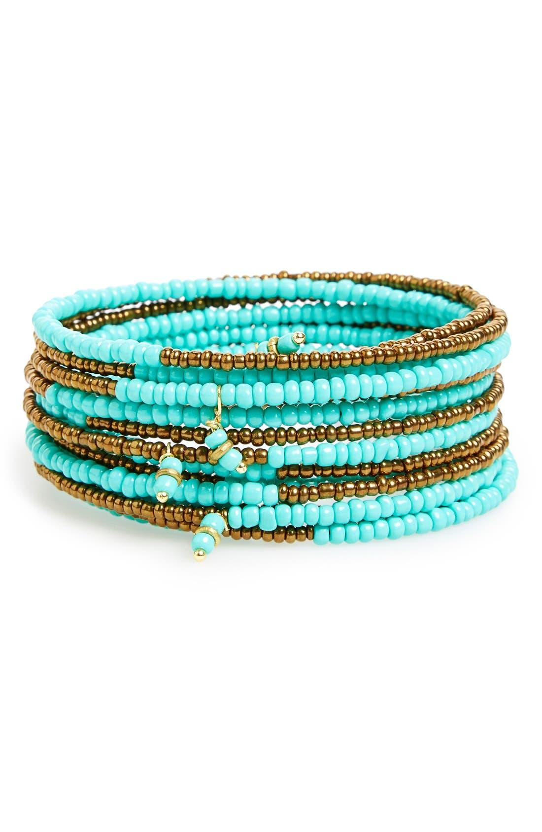 Alternate Image 1 Selected - Me to We Artisans 'Kitanzi' Beaded Bracelet