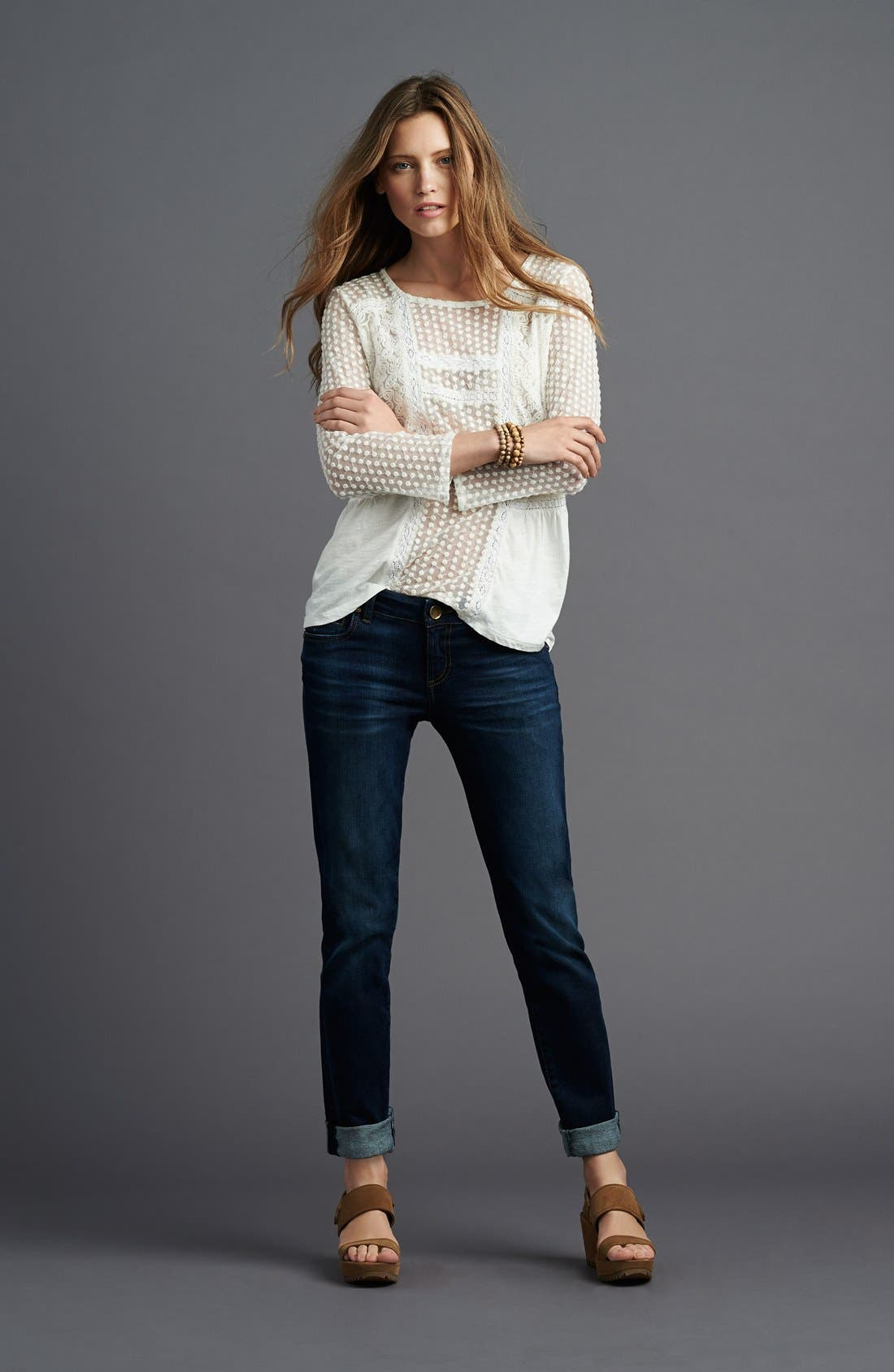 Alternate Image 7  - KUT from the Kloth 'Catherine' Boyfriend Jeans (Easily) (Regular & Petite)