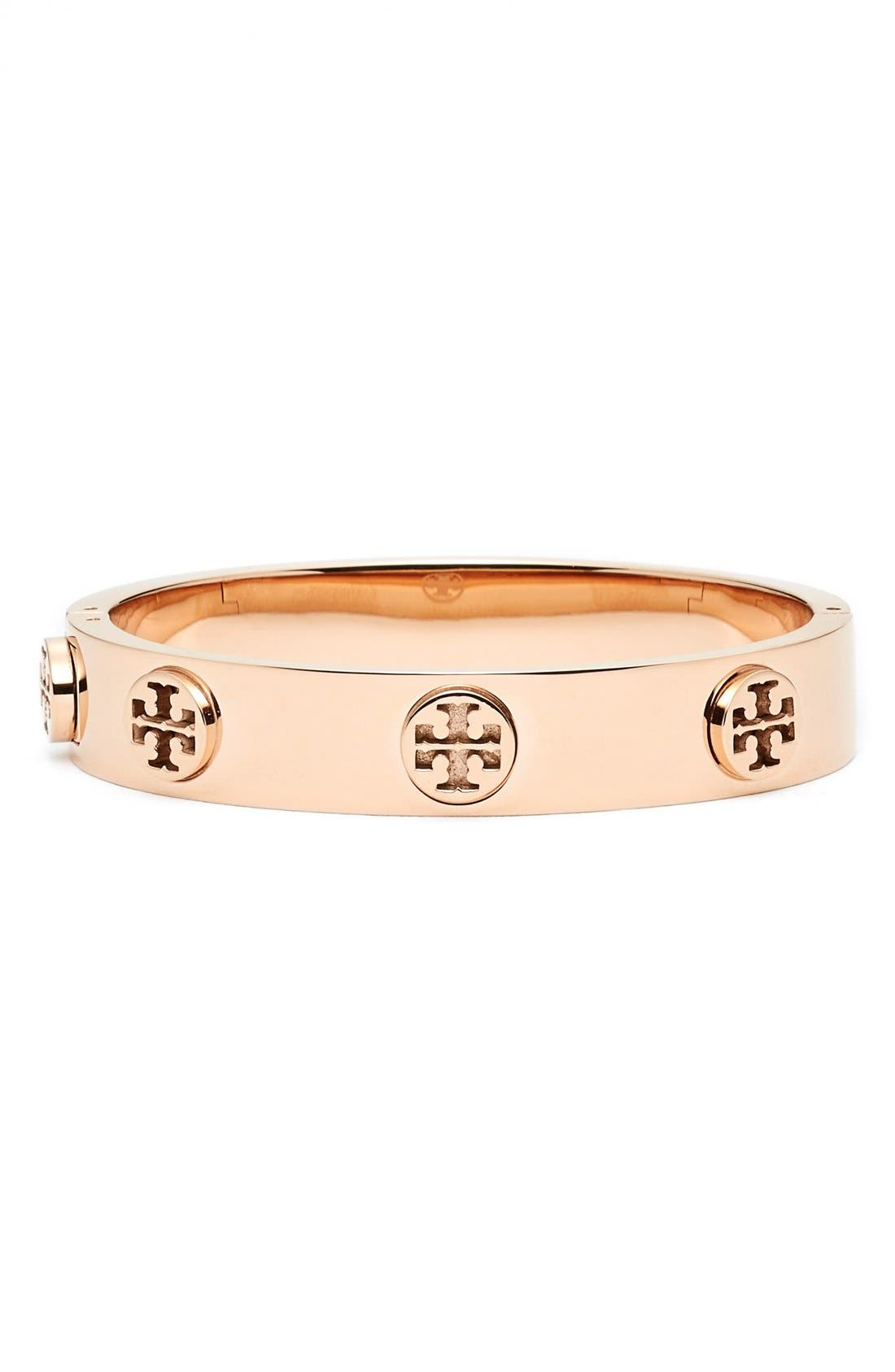 Alternate Image 1 Selected - Tory Burch Logo Bracelet