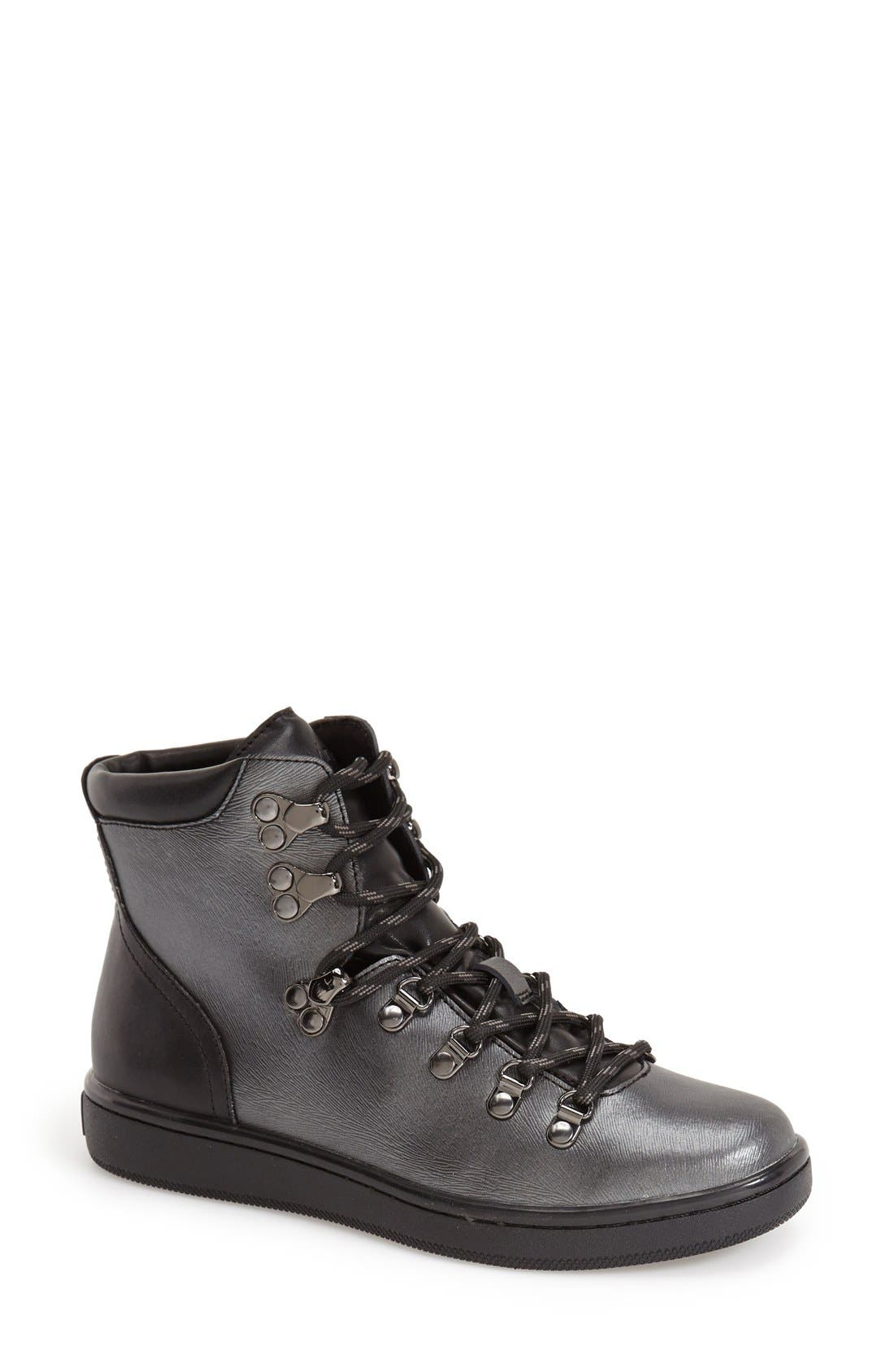 Alternate Image 1 Selected - Calvin Klein 'Dita' Sneaker Boot (Women)