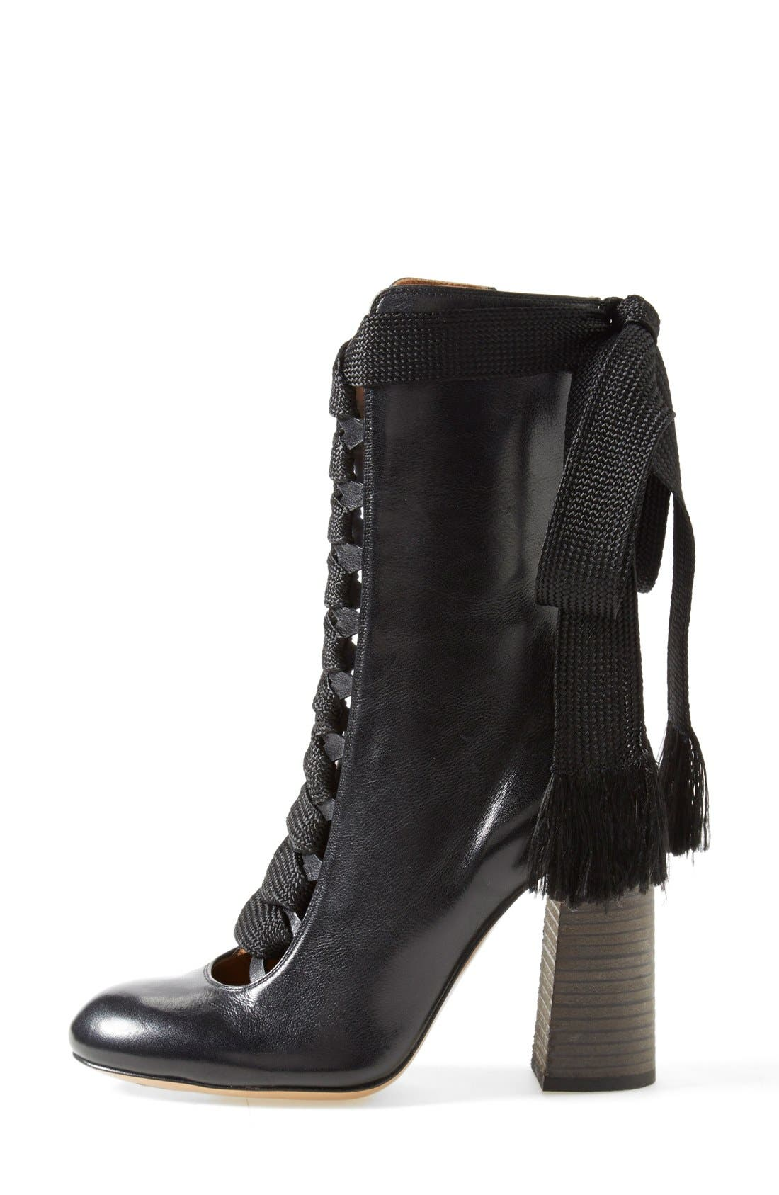 Alternate Image 4  - Chloé 'Harper' Lace-Up Boot (Women)