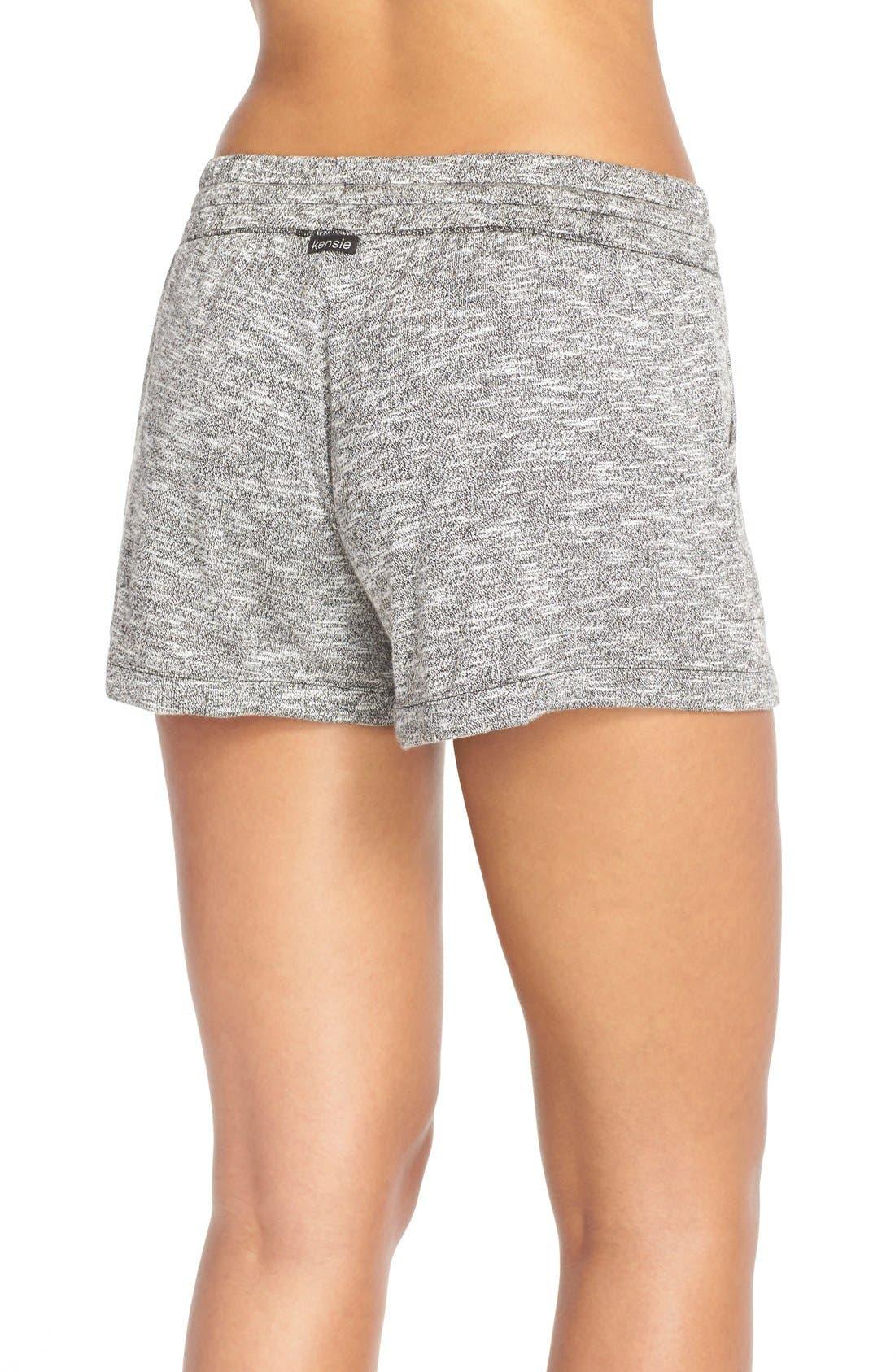 Alternate Image 2  - kensieKnitLounge Shorts