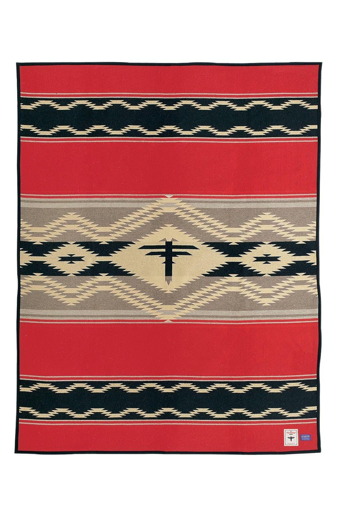 Alternate Image 1 Selected - Pendleton 'Water' Wool Blend Blanket