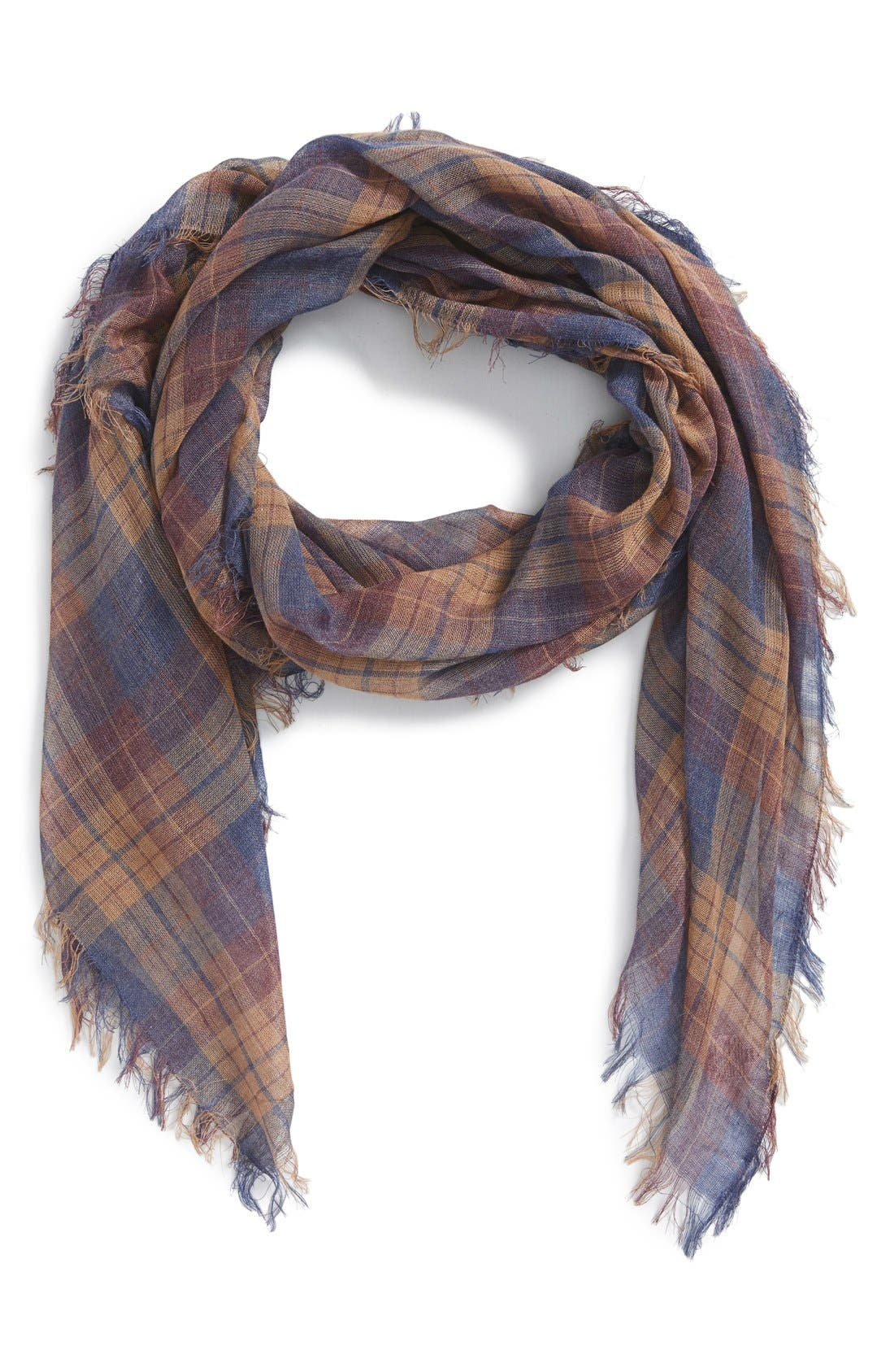 Alternate Image 1 Selected - BP. Plaid Scarf