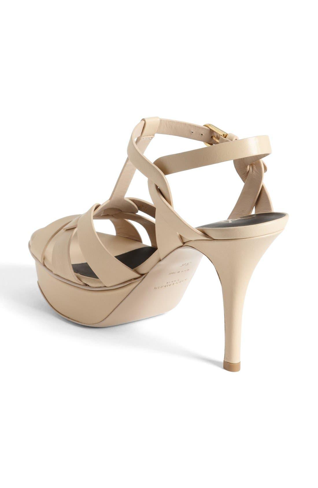 Alternate Image 2  - Saint Laurent 'Tribute' Sandal (Women)