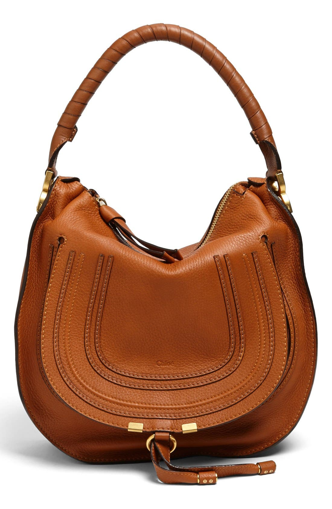 Alternate Image 1 Selected - Chloé 'Marcie - Medium' Leather Hobo