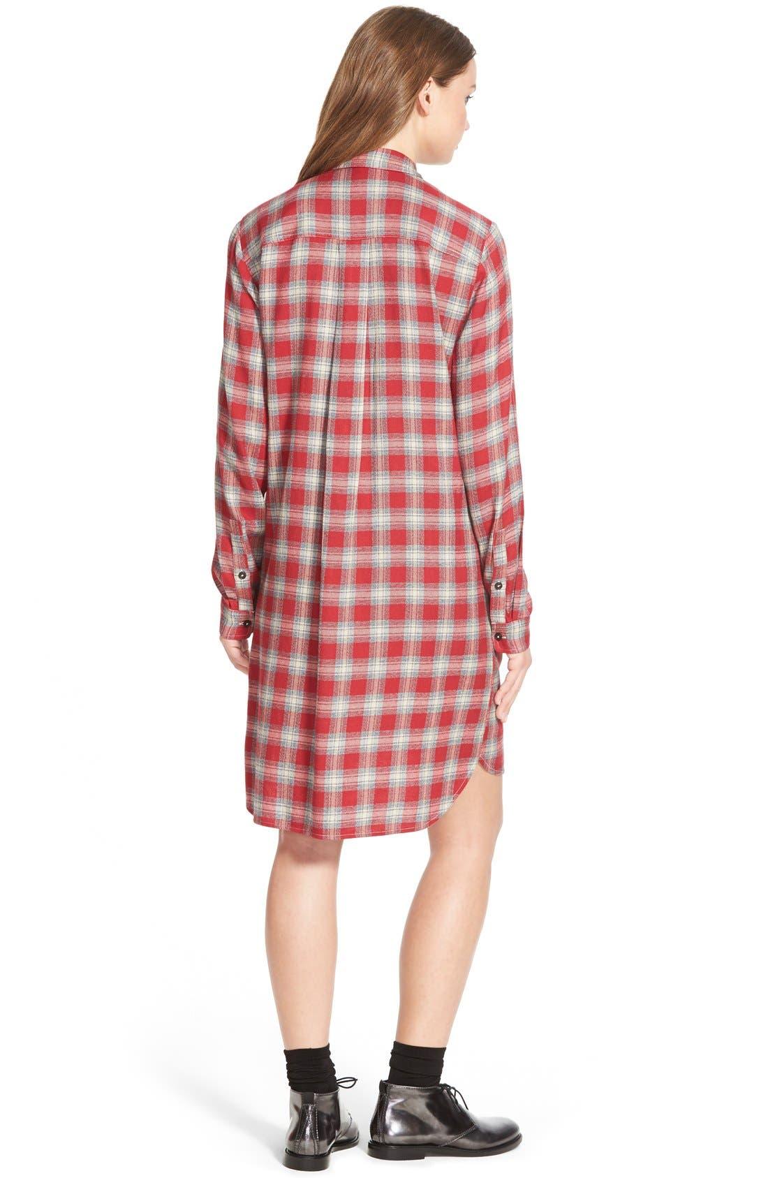 Alternate Image 3  - MadewellPlaid Shirtdress