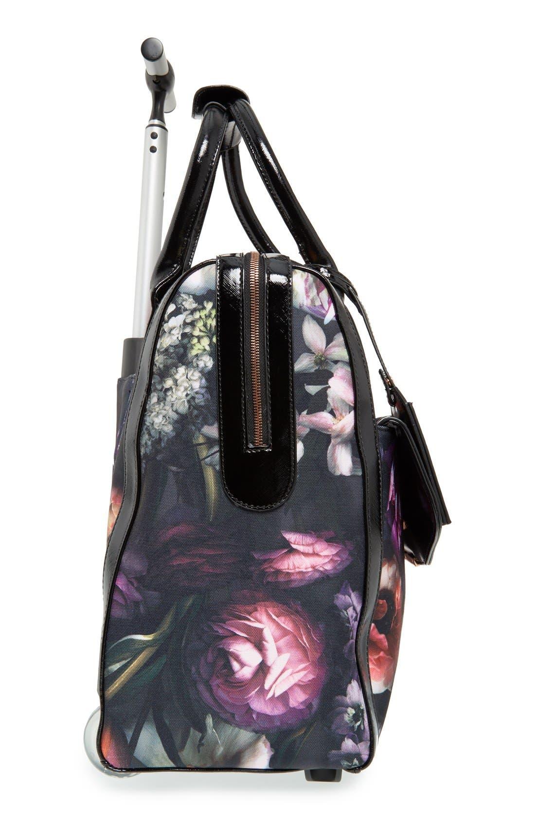 Alternate Image 3  - Ted Baker London 'Shadow Flora' Travel Bag (16 Inch)