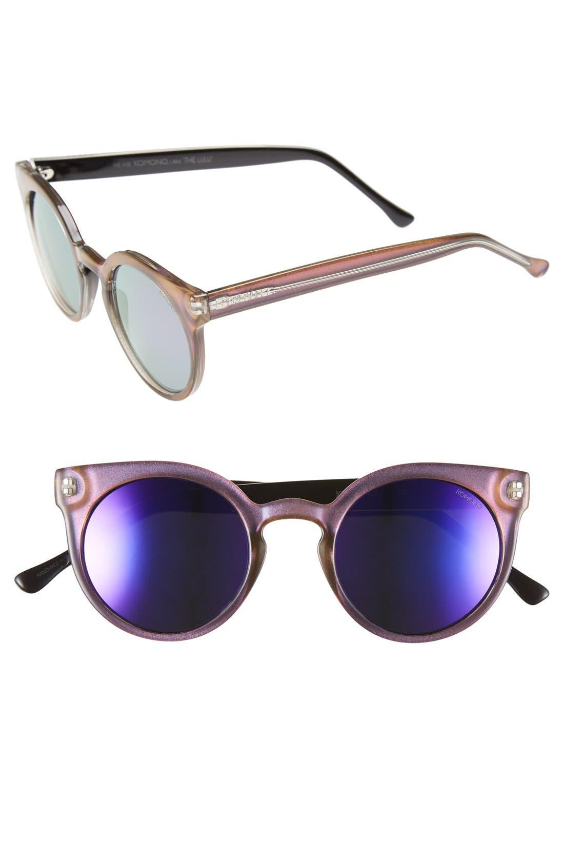 Alternate Image 1 Selected - Komono 'Lulu' Round Lens Sunglasses