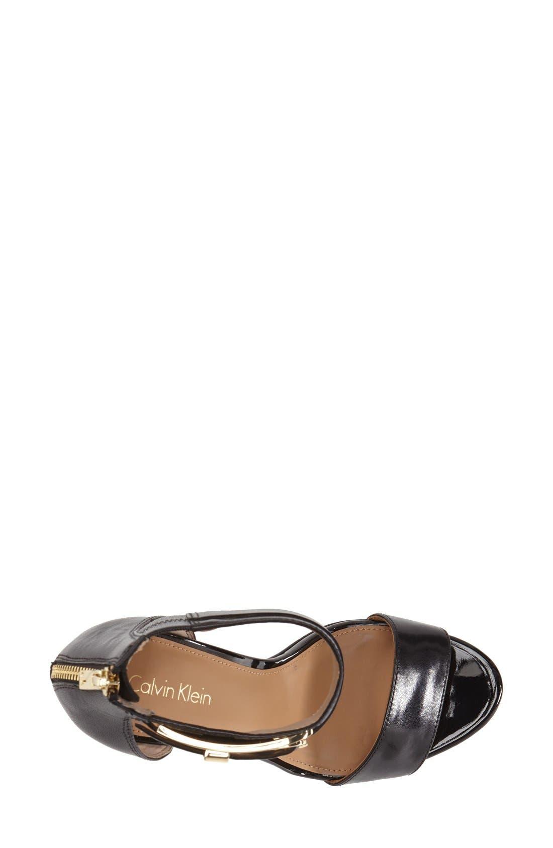 Alternate Image 3  - Calvin Klein 'Panthea' Ankle Strap Sandal (Women)