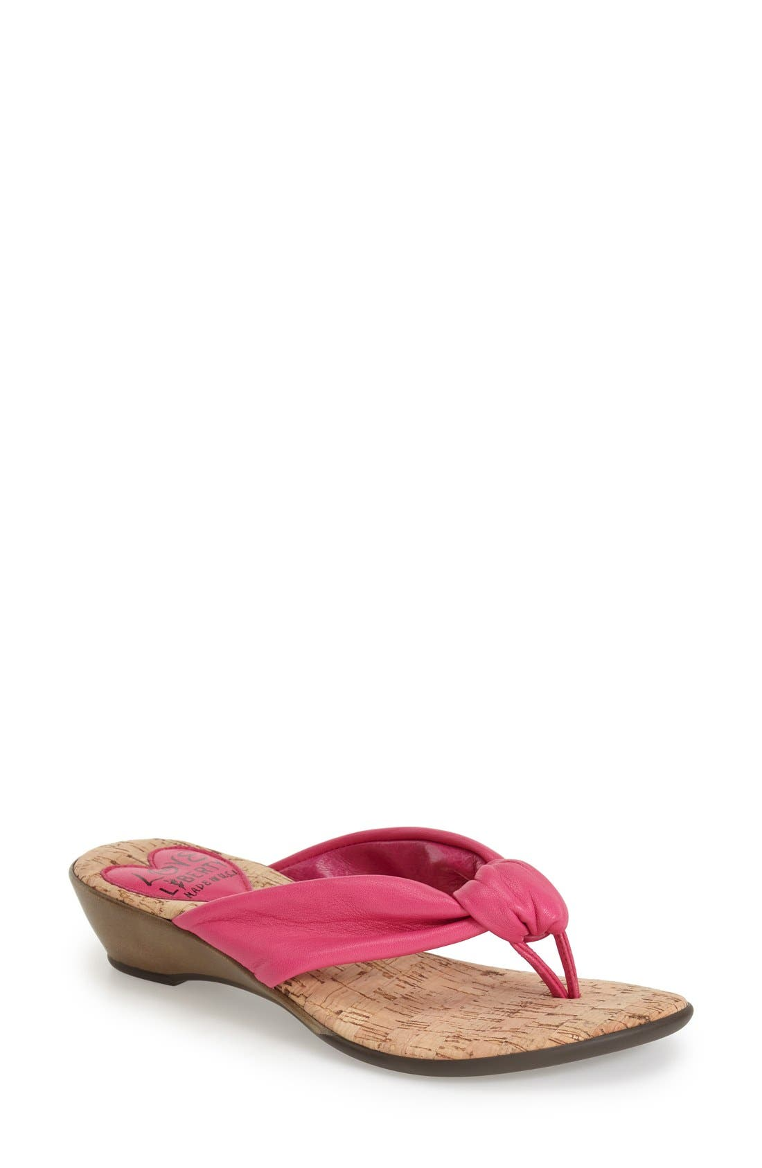 LOVE AND LIBERTY 'Janine' Thong Sandal