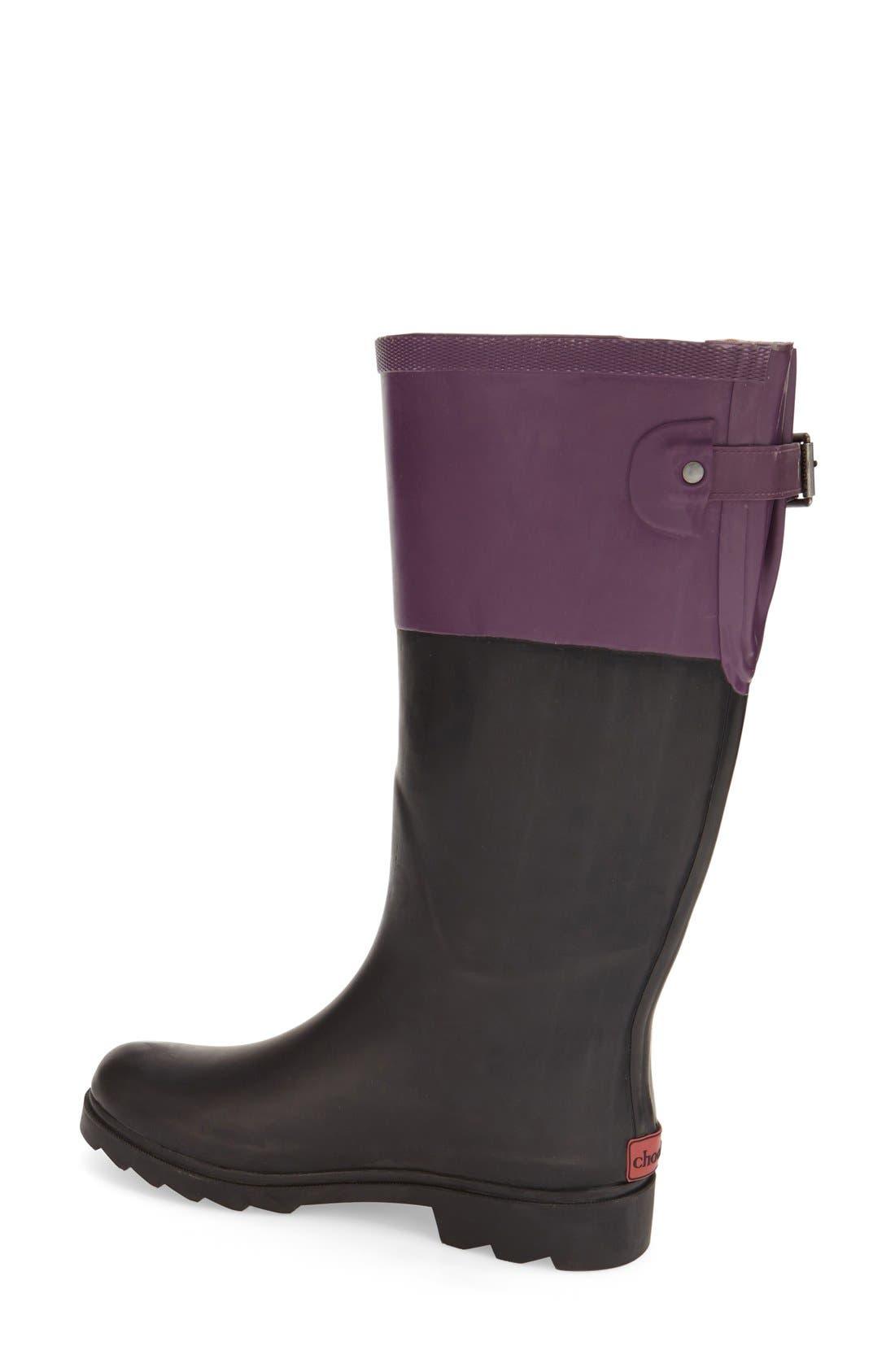 Alternate Image 2  - ChookaGusset Rain Boot (Women)
