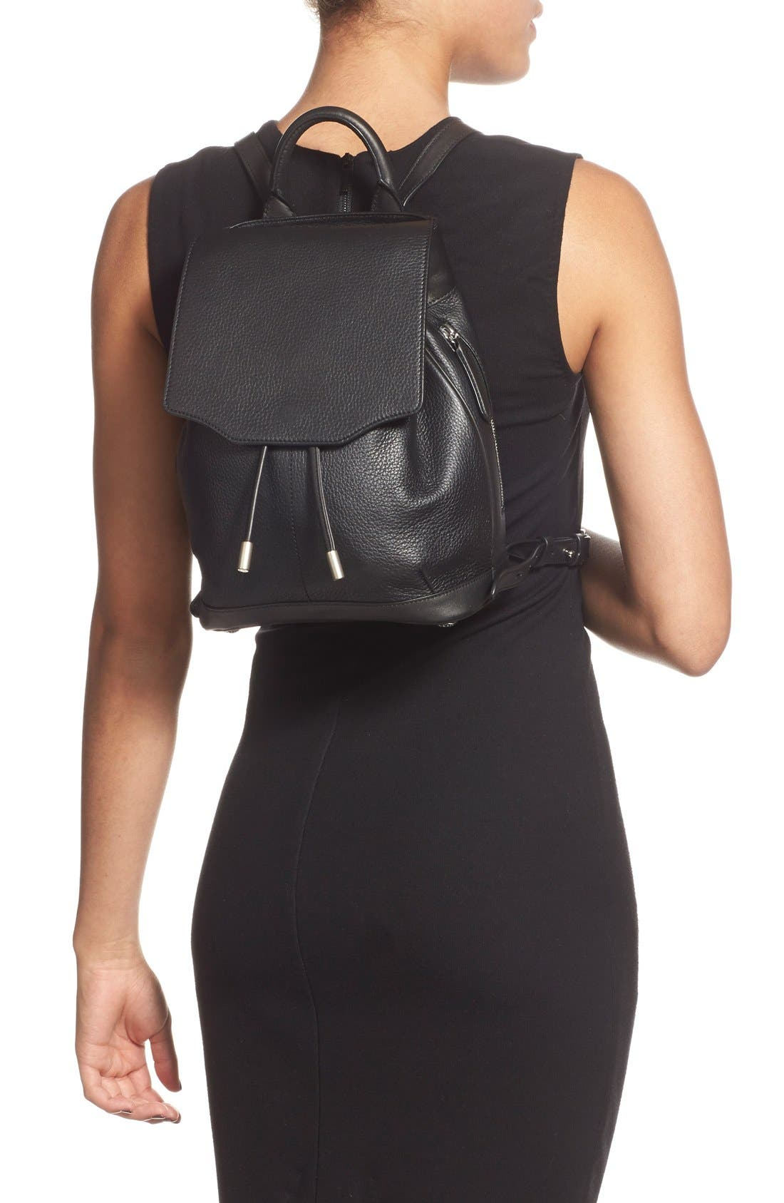 Alternate Image 2  - rag & bone 'Mini Pilot' Quilted Leather Backpack