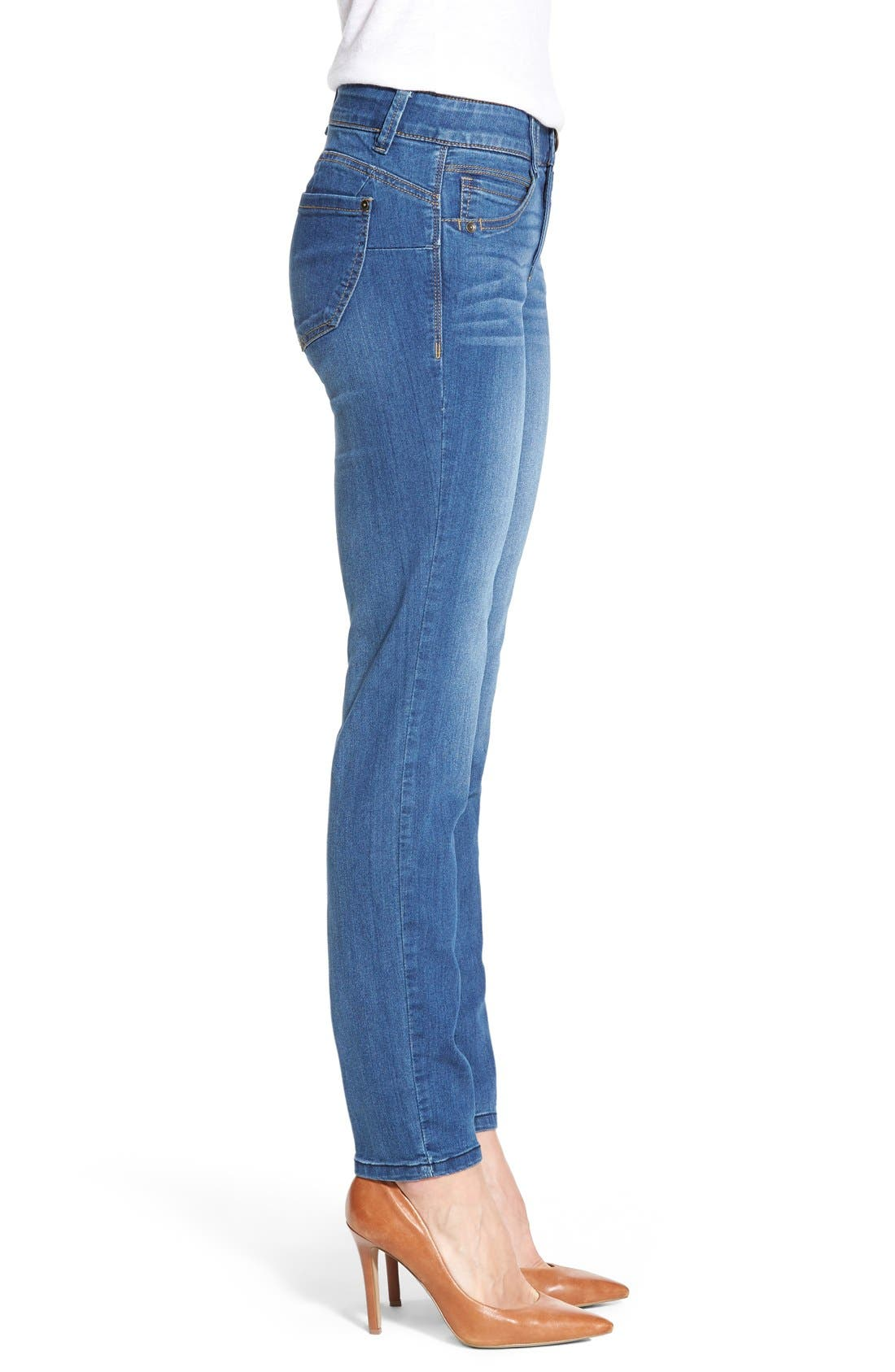 Alternate Image 3  - Wit & Wisdom 'Ab-solution' Booty Lift Stretch Skinny Jeans (Nordstrom Exclusive)