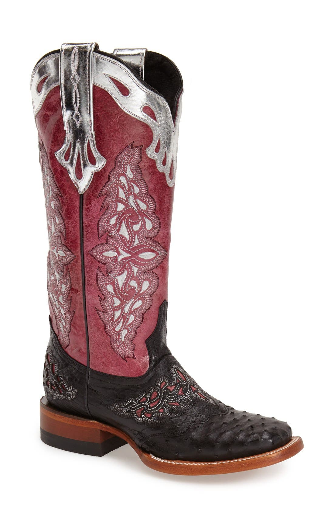 Alternate Image 1 Selected - Lucchese 'Amberlyn' Western Boot (Women)