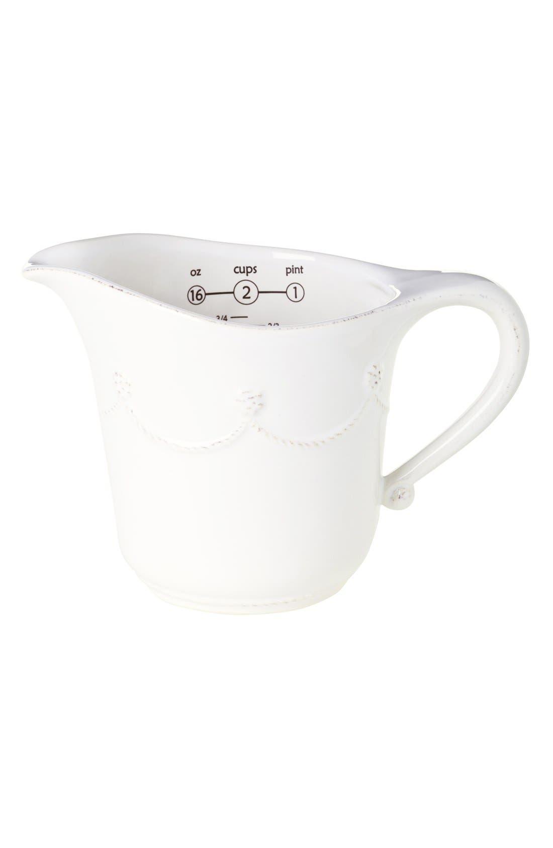 Main Image - Juliska'Berry and Thread' Ceramic Measuring Cup