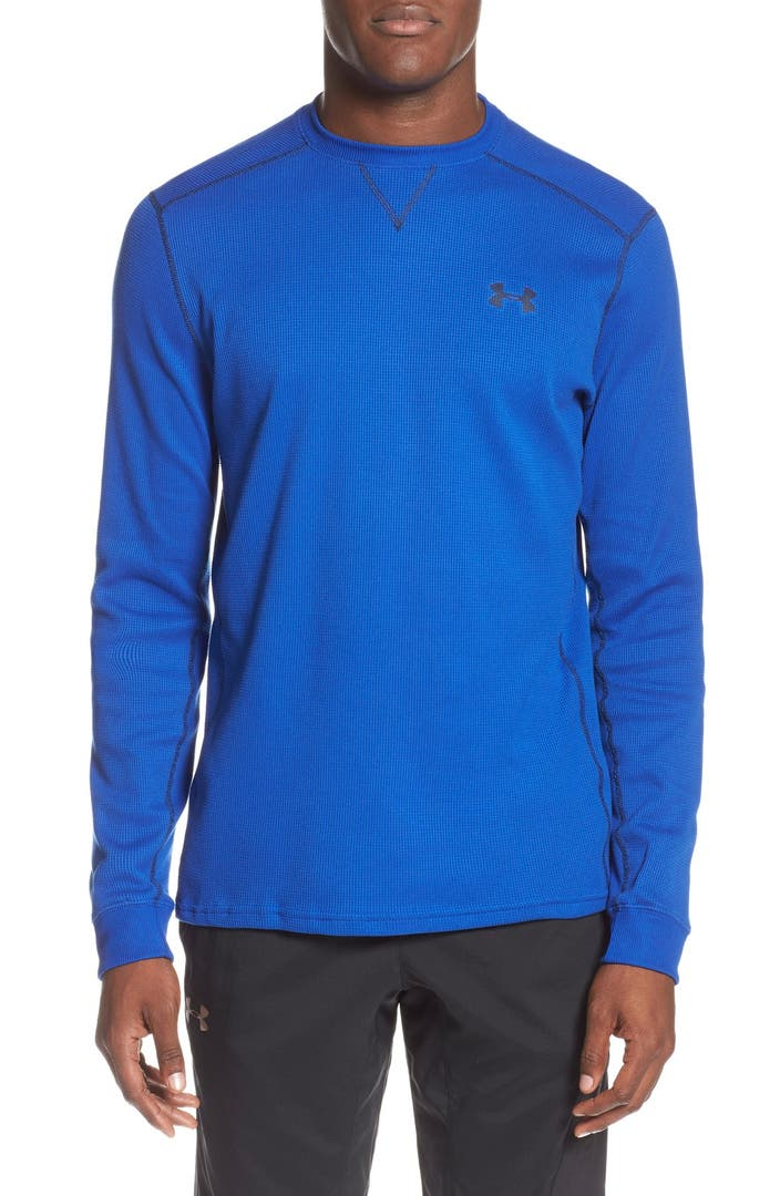 Under armour 39 amplify 39 thermal long sleeve t shirt nordstrom for Thermal t shirt long sleeve