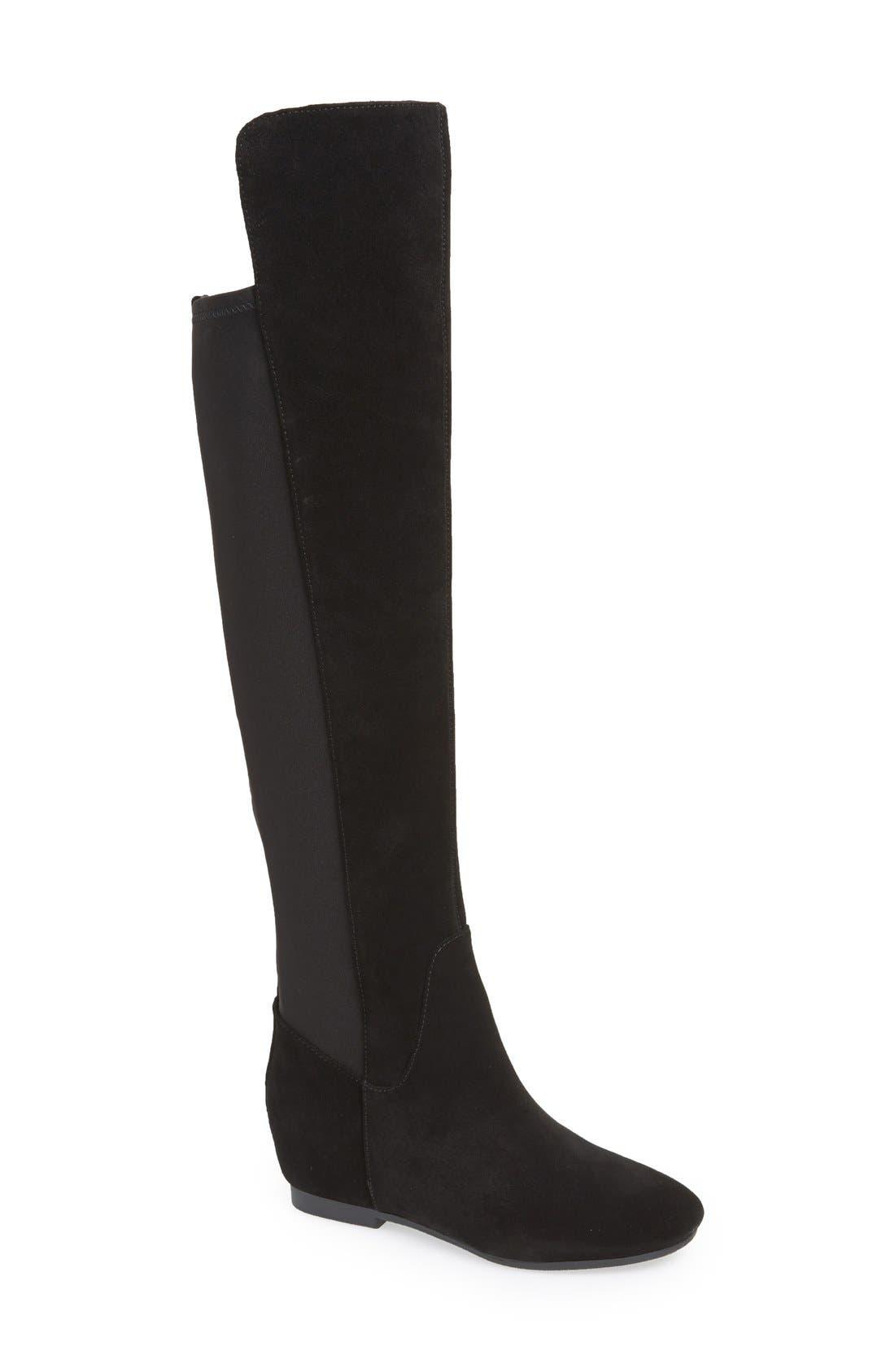 Main Image - Nine West 'Tiberia' Over the Knee Boot (Women)