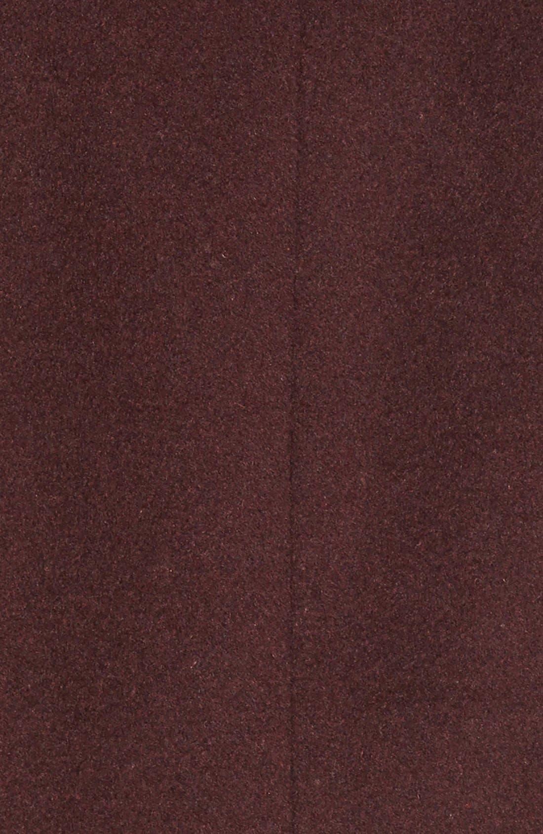 Alternate Image 5  - Cole HaanSignature Stand Collar Wool Blend Coat