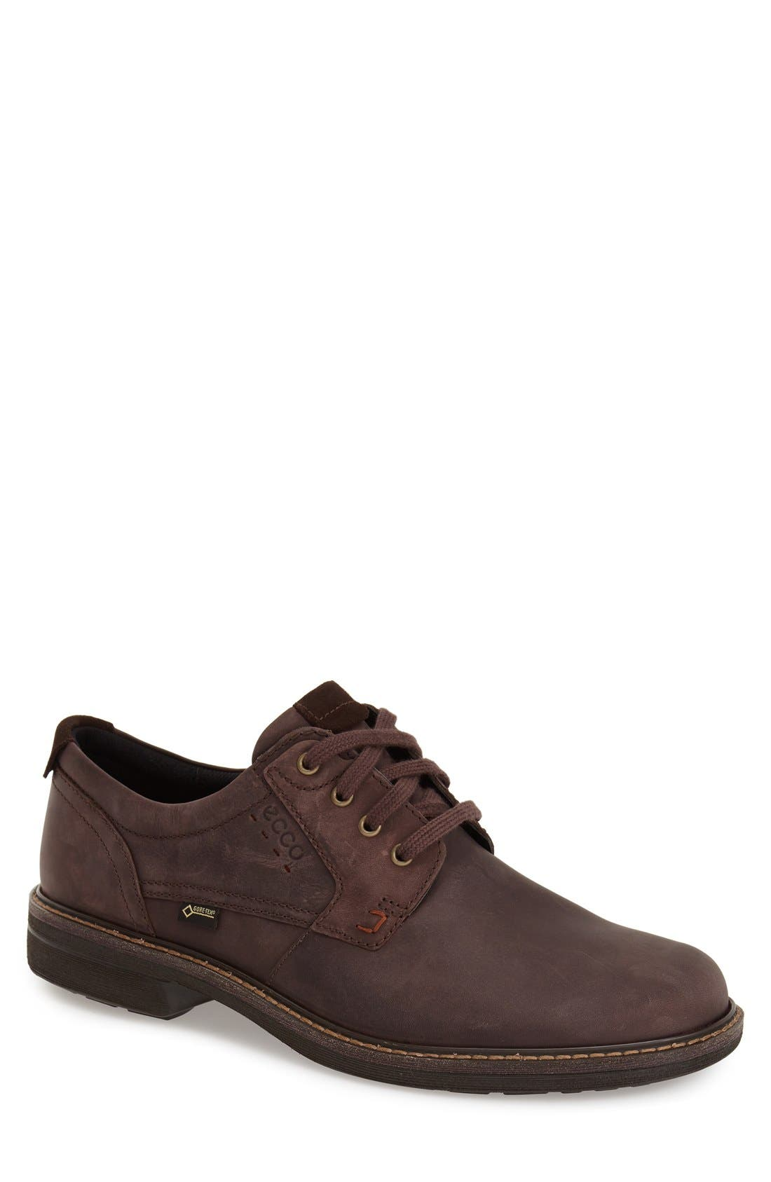 ECCO 'Turn GTX' Waterproof Plain Toe Oxford