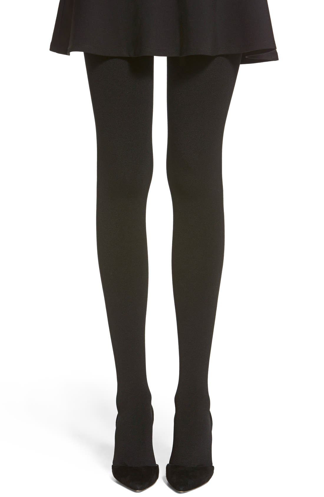 Alternate Image 1 Selected - Hue Brushed Sweater Tights