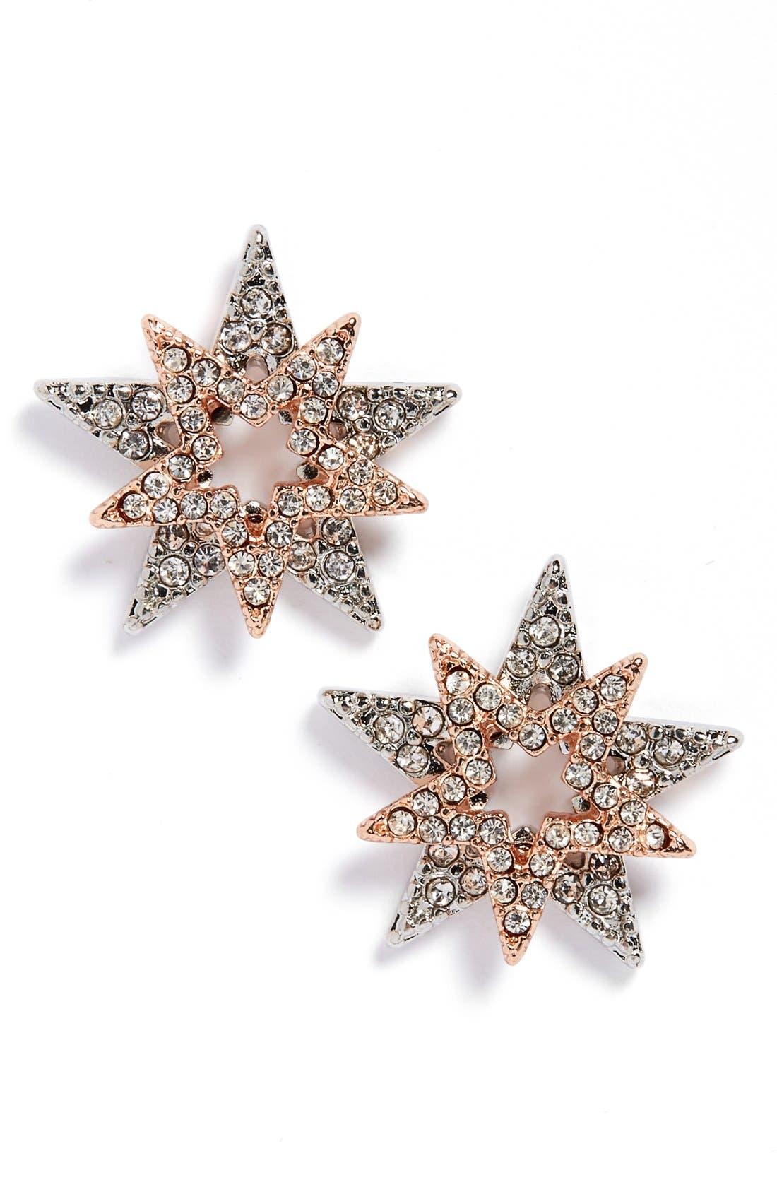 Alternate Image 1 Selected - Sole Society 'Celestial' Stud Earrings