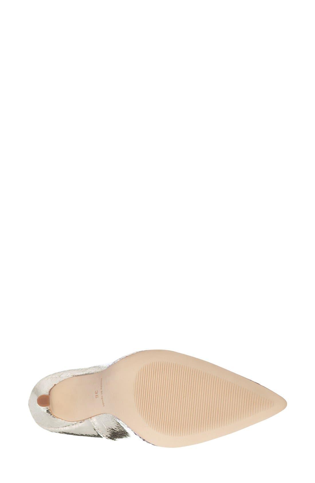 Alternate Image 4  - Topshop 'Gallop' Patent Pointy Toe Pump (Women)