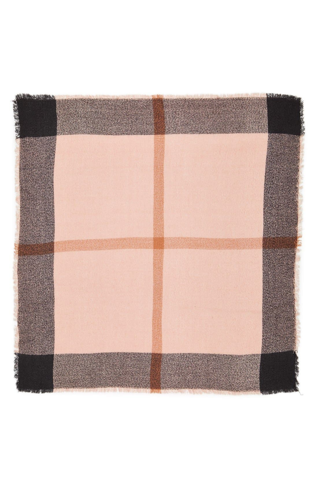 Alternate Image 2  - David & Young Square Blanket Scarf