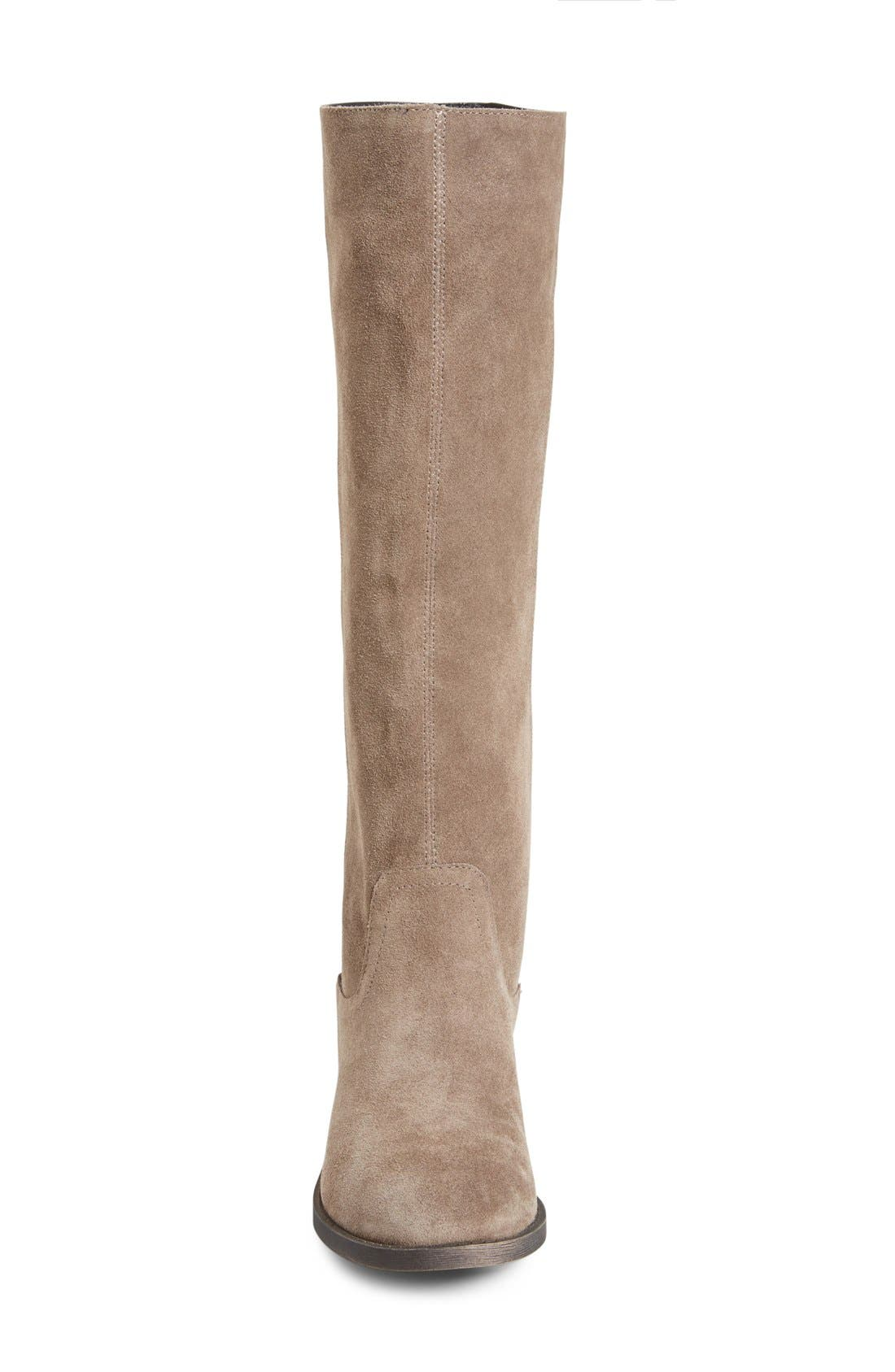 Alternate Image 2  - Sole Society 'Kellini' Suede Knee High Boot (Women)