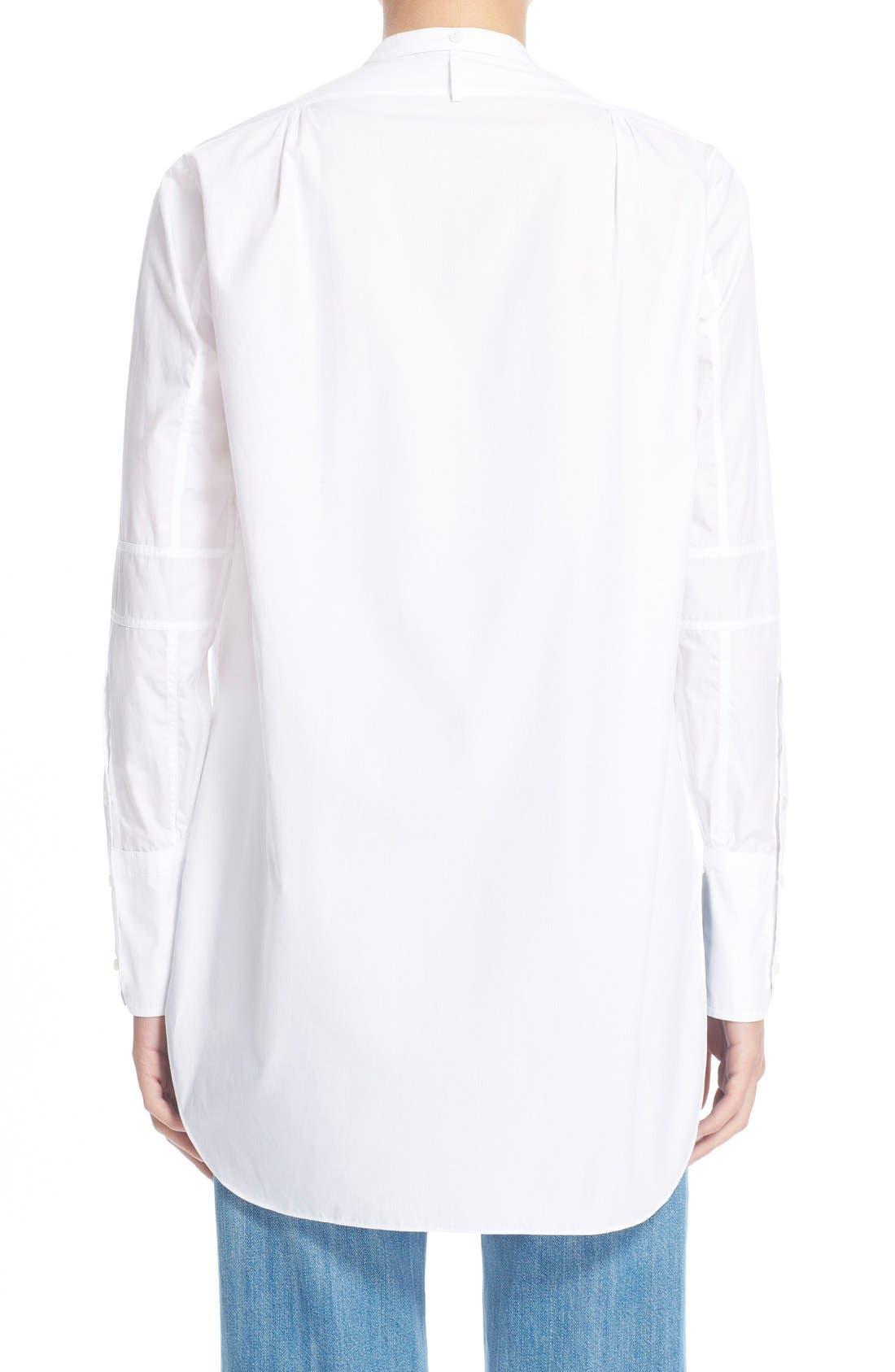 Alternate Image 2  - HelmutLang Poplin Tuxedo Shirt