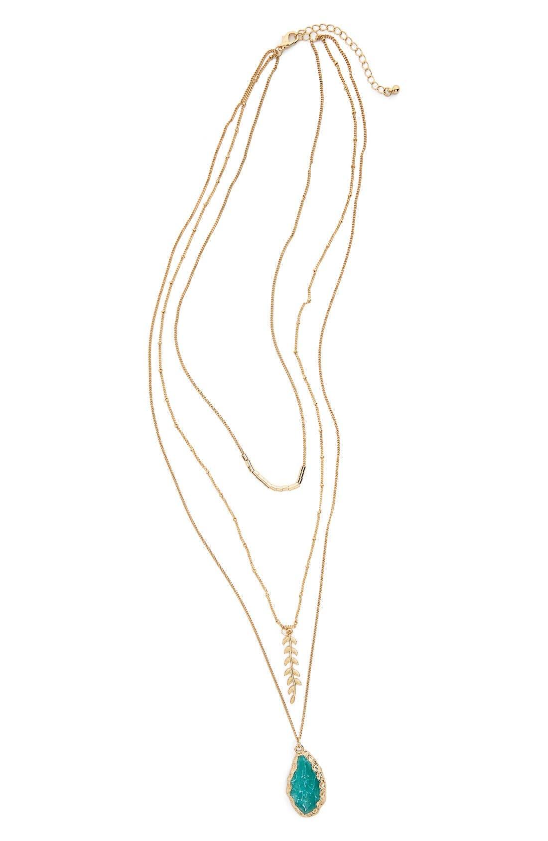 Main Image - ZadMulti-Row Necklace
