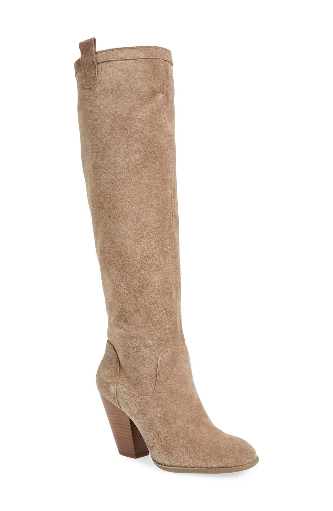 Alternate Image 1 Selected - Sole Society 'Rumer' Slouchy Knee High Boot (Women)