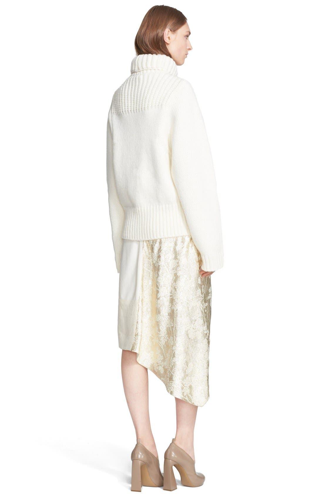 Alternate Image 2  - Stella McCartney Fisherman Turtleneck Sweater