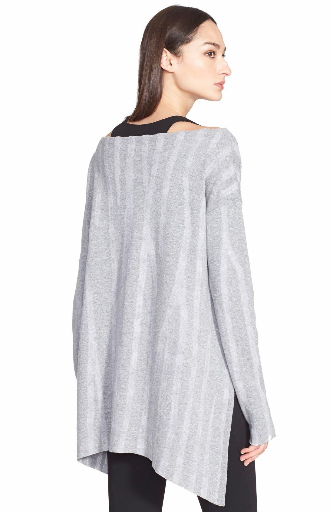 Alternate Image 2  - Donna Karan New York Needle Punch Wool Sweater