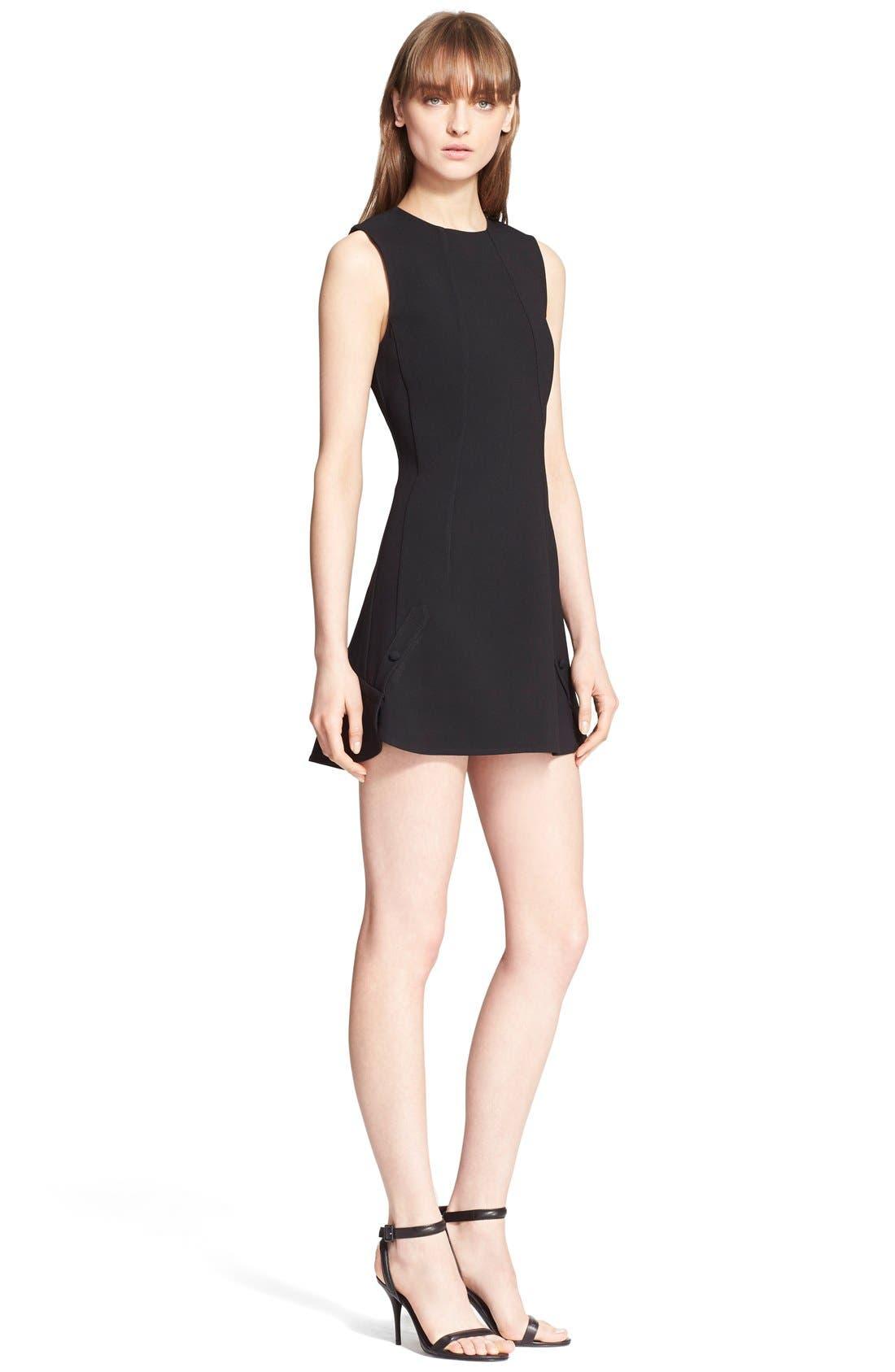Alternate Image 1 Selected - Alexander Wang Sleeveless Crepe Dress
