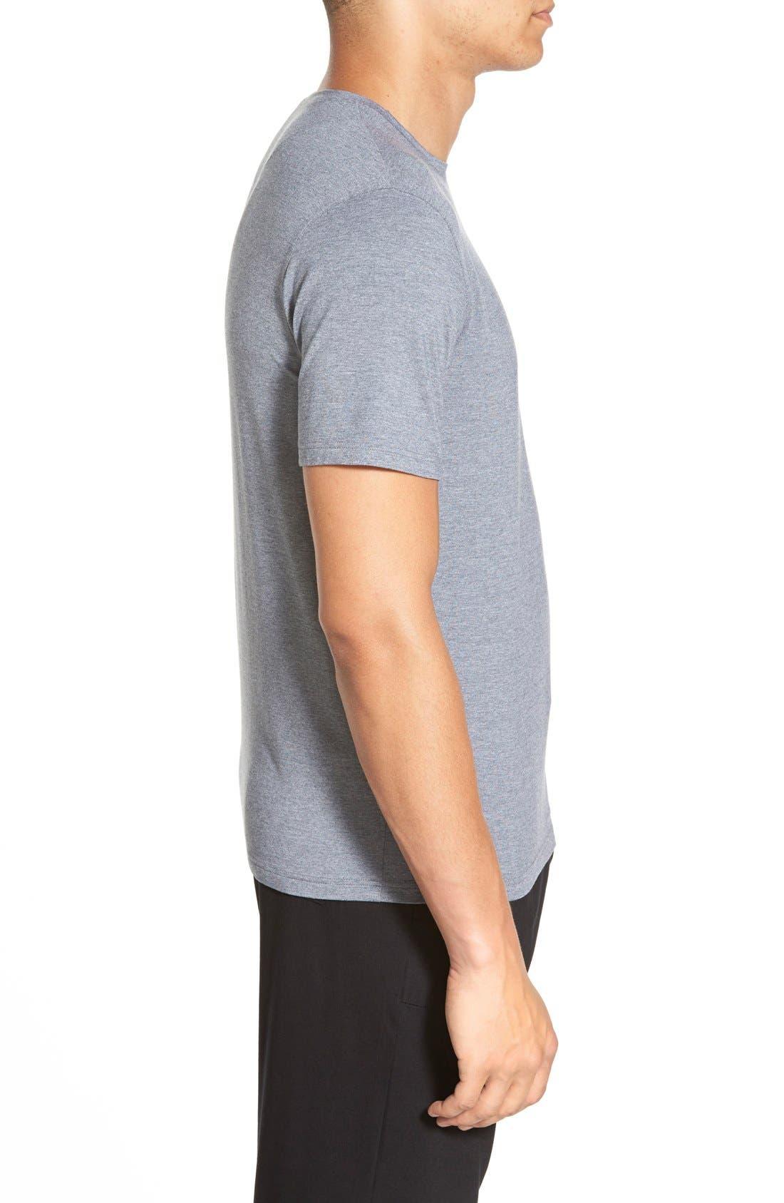 Alternate Image 3  - Derek Rose 'Marlowe' Stretch Modal T-Shirt
