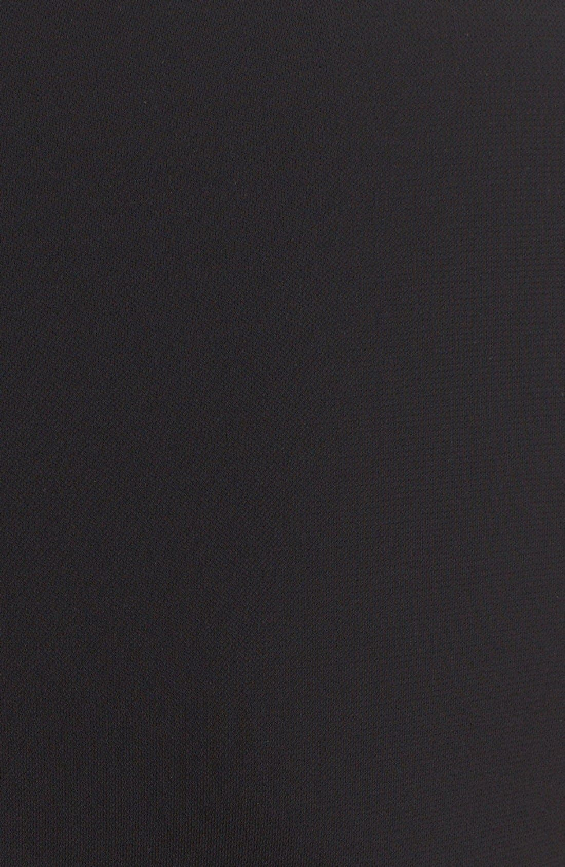 Alternate Image 3  - Michael KorsCap Sleeve Illusion JerseyGown