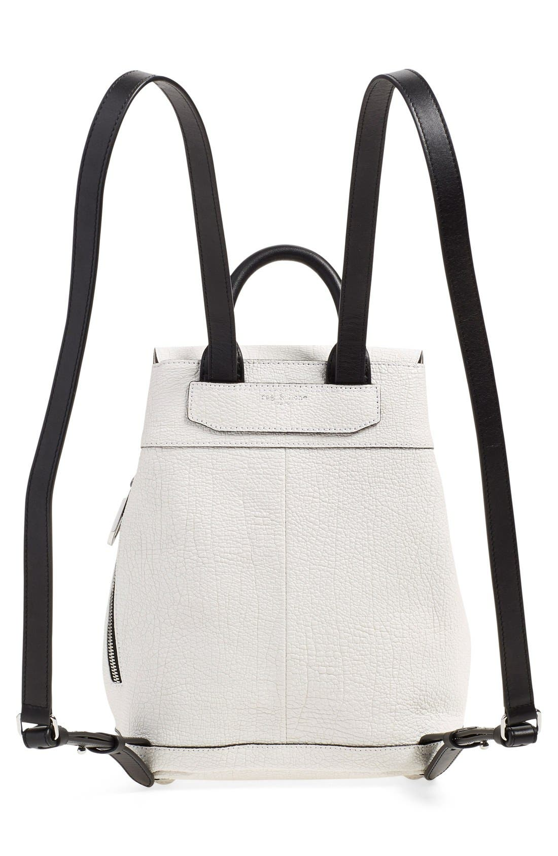 Alternate Image 2  - rag & bone 'Mini Pilot' Leather Backpack